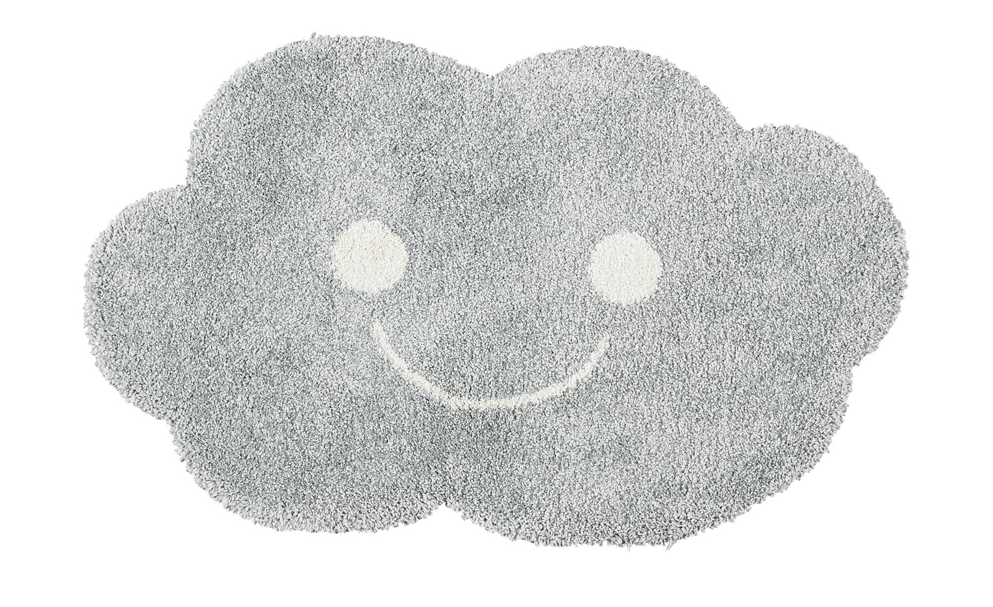 for friends Webteppich  Wolke ¦ grau ¦ 100% Polypropylen ¦ Maße (cm): B: 90 Teppiche > Kinderteppiche - Höffner