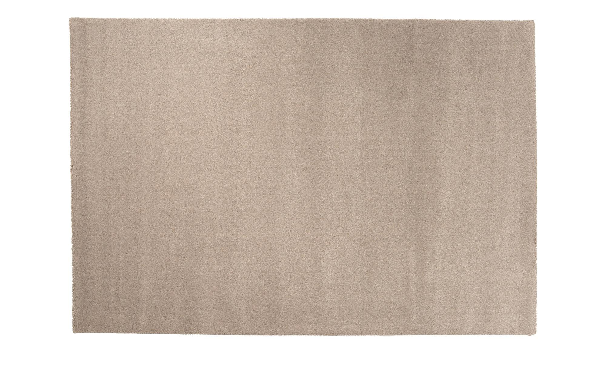 Webteppich  Louvre Melange ¦ grau ¦ 100% Polypropylen ¦ Maße (cm): B: 140 Teppiche > Wohnteppiche - Höffner
