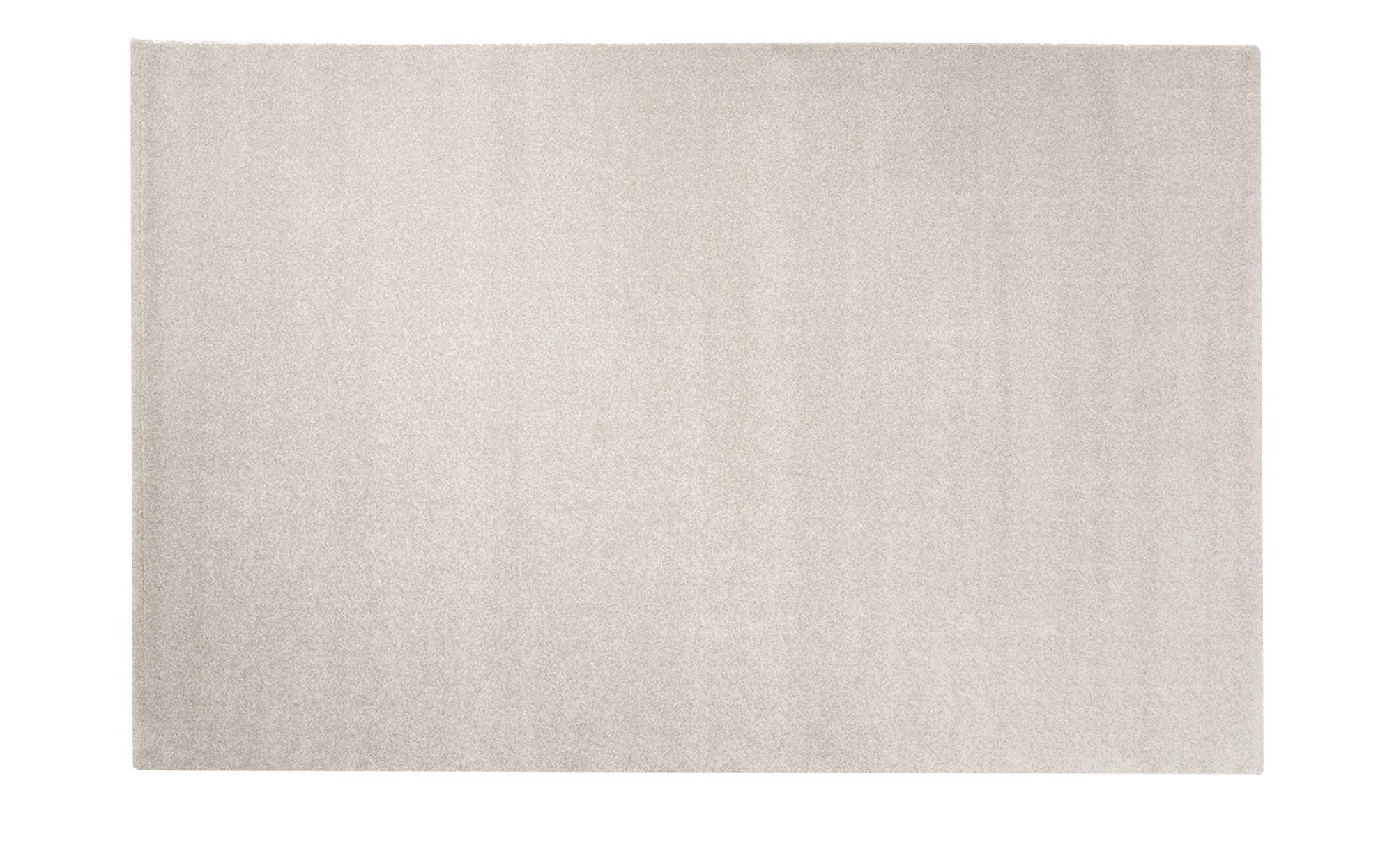 Kurzflorteppich  Louvre Melange ¦ grau ¦ 100% Polypropylen, Synthethische Fasern ¦ Maße (cm): B: 80 Teppiche > Wohnteppiche - Höffner