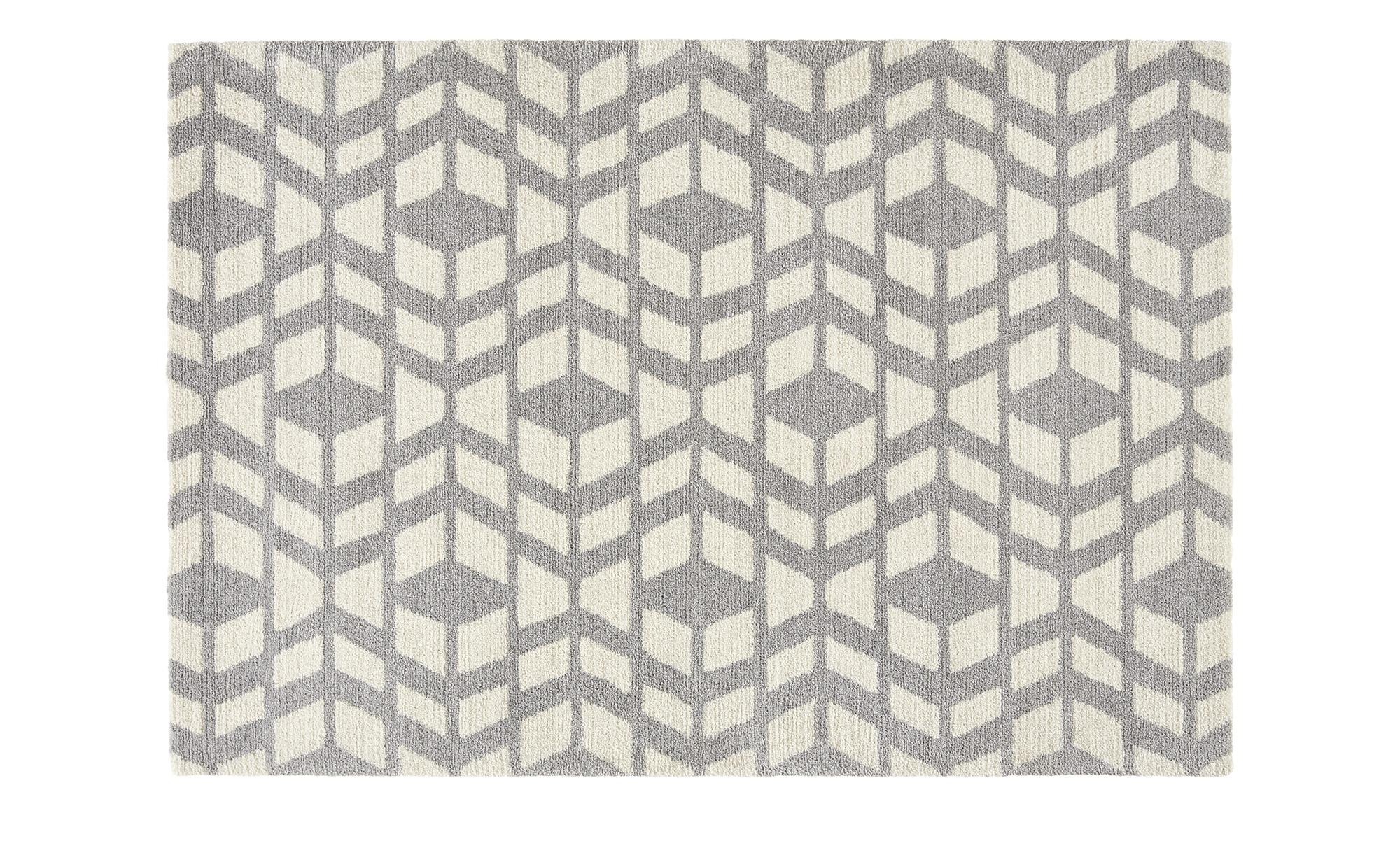 Webteppich  Fjord ¦ grau ¦ 60% Polyester, 40% Polypropylen ¦ Maße (cm): B: 160 Teppiche > Wohnteppiche - Höffner