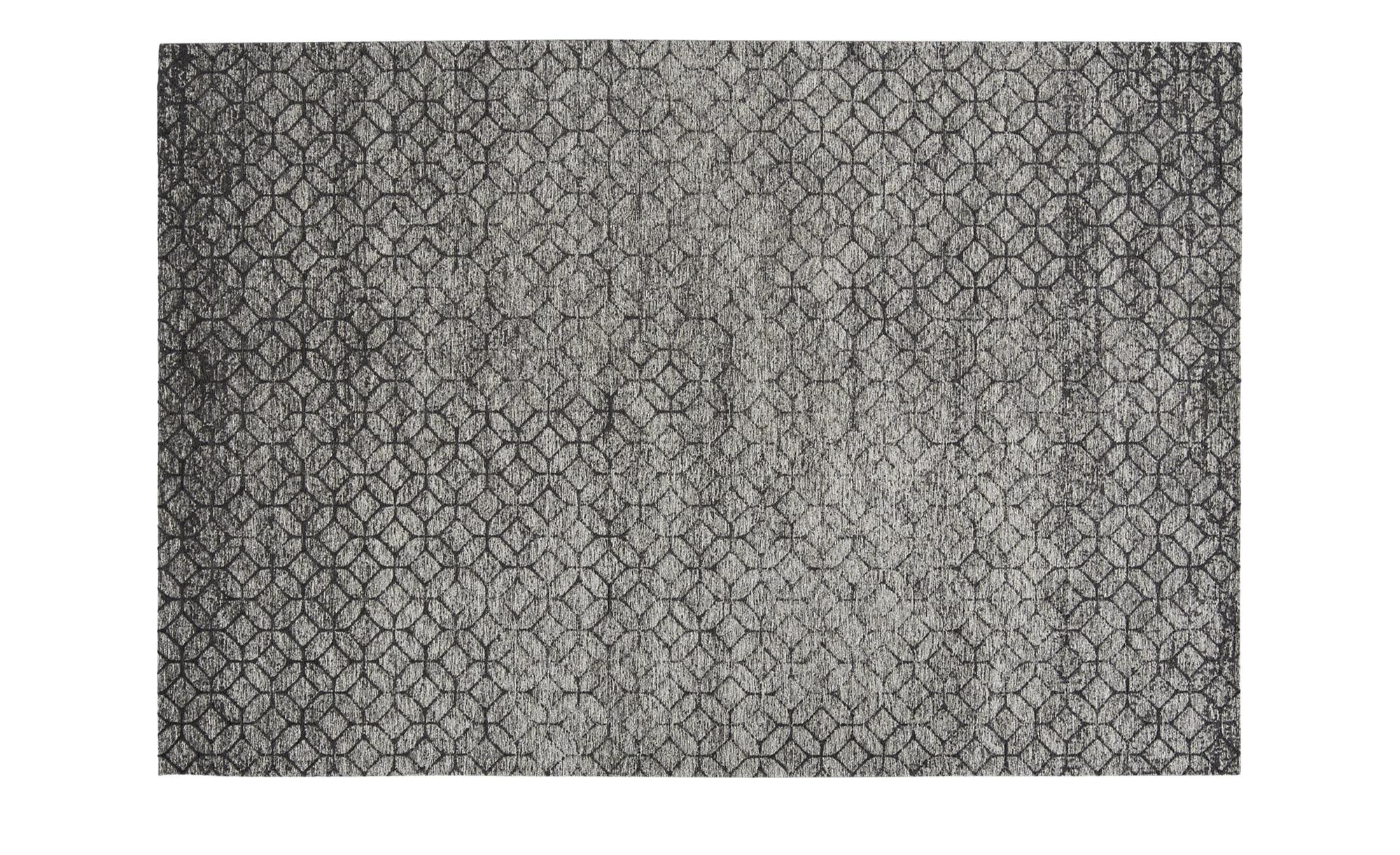 Webteppich  Harmonie 2000 ¦ grau ¦ 34% Baumwolle, 33% Polyethylen, 33% Chenille Acryl ¦ Maße (cm): B: 80 Teppiche > Wohnteppiche - Höffner