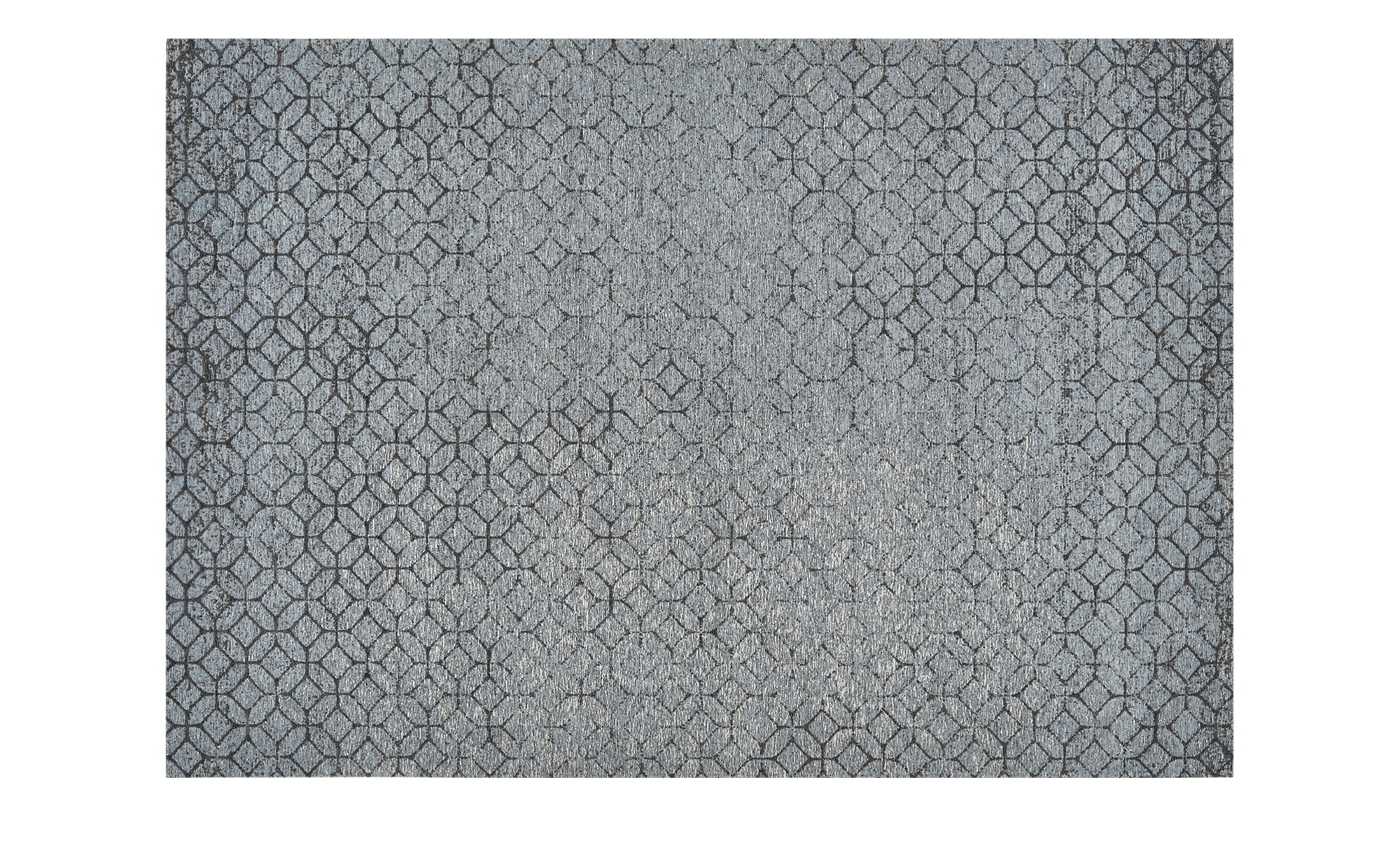 Webteppich  Harmonie 2000 ¦ blau ¦ 34% Baumwolle, 33% Polyethylen, 33% Chenille Acryl ¦ Maße (cm): B: 130 Teppiche > Wohnteppiche - Höffner
