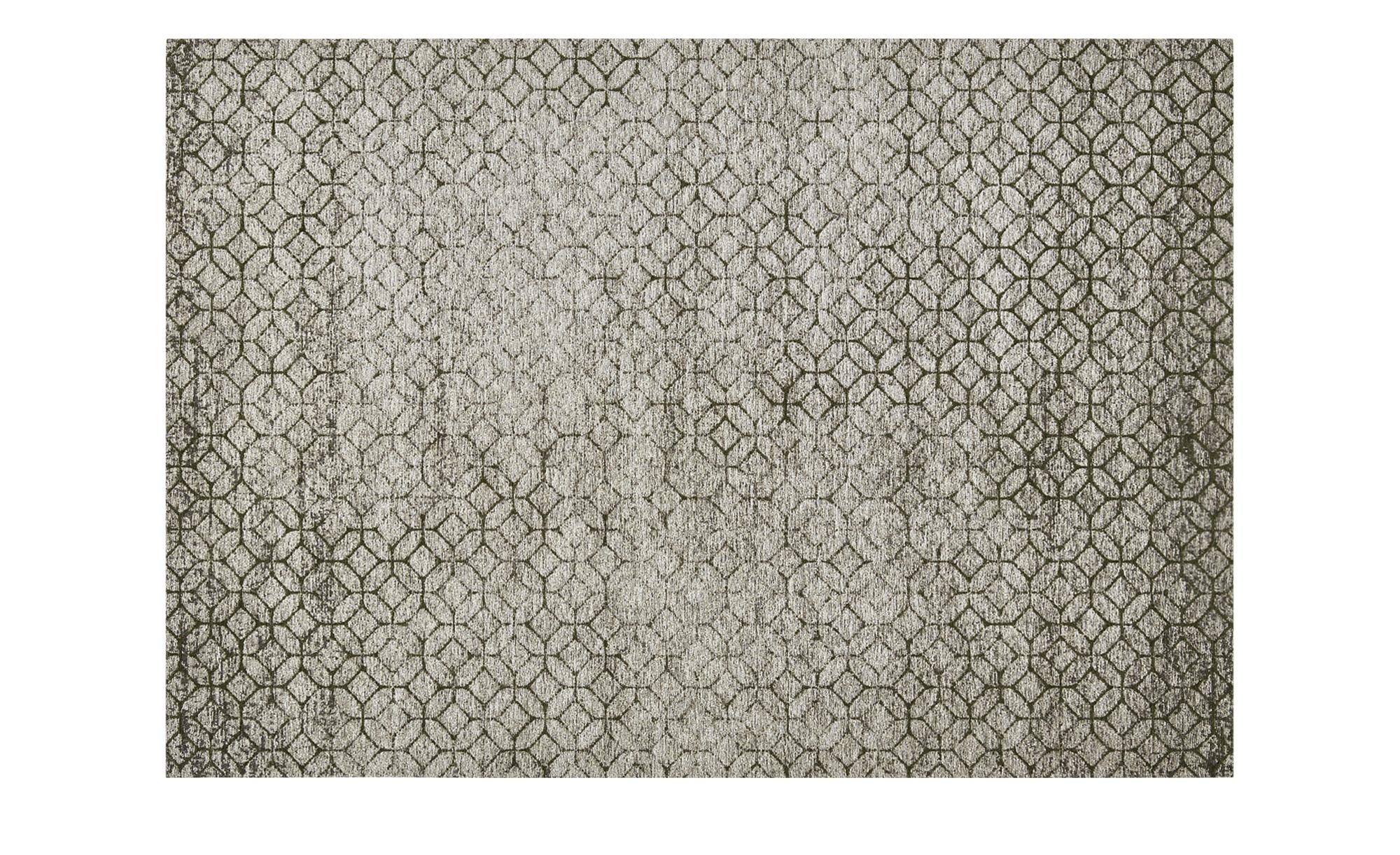 Webteppich  Harmonie 2000 ¦ grün ¦ 34% Baumwolle, 33% Polyethylen, 33% Chenille Acryl ¦ Maße (cm): B: 155 Teppiche > Wohnteppiche - Höffner