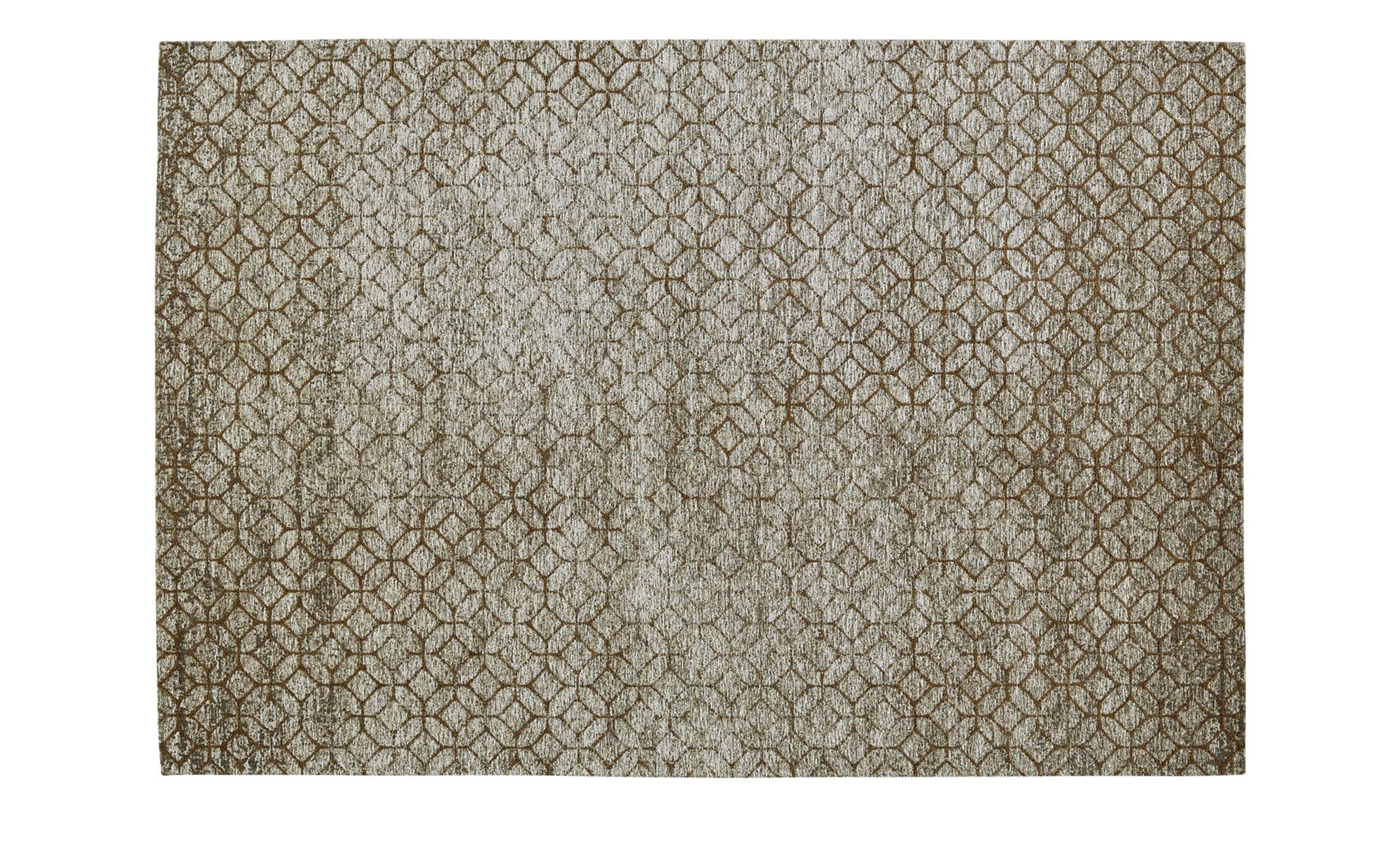 Webteppich  Harmonie 2000 ¦ braun ¦ 34% Baumwolle, 33% Polyethylen, 33% Chenille Acryl ¦ Maße (cm): B: 155 Teppiche > Wohnteppiche - Höffner