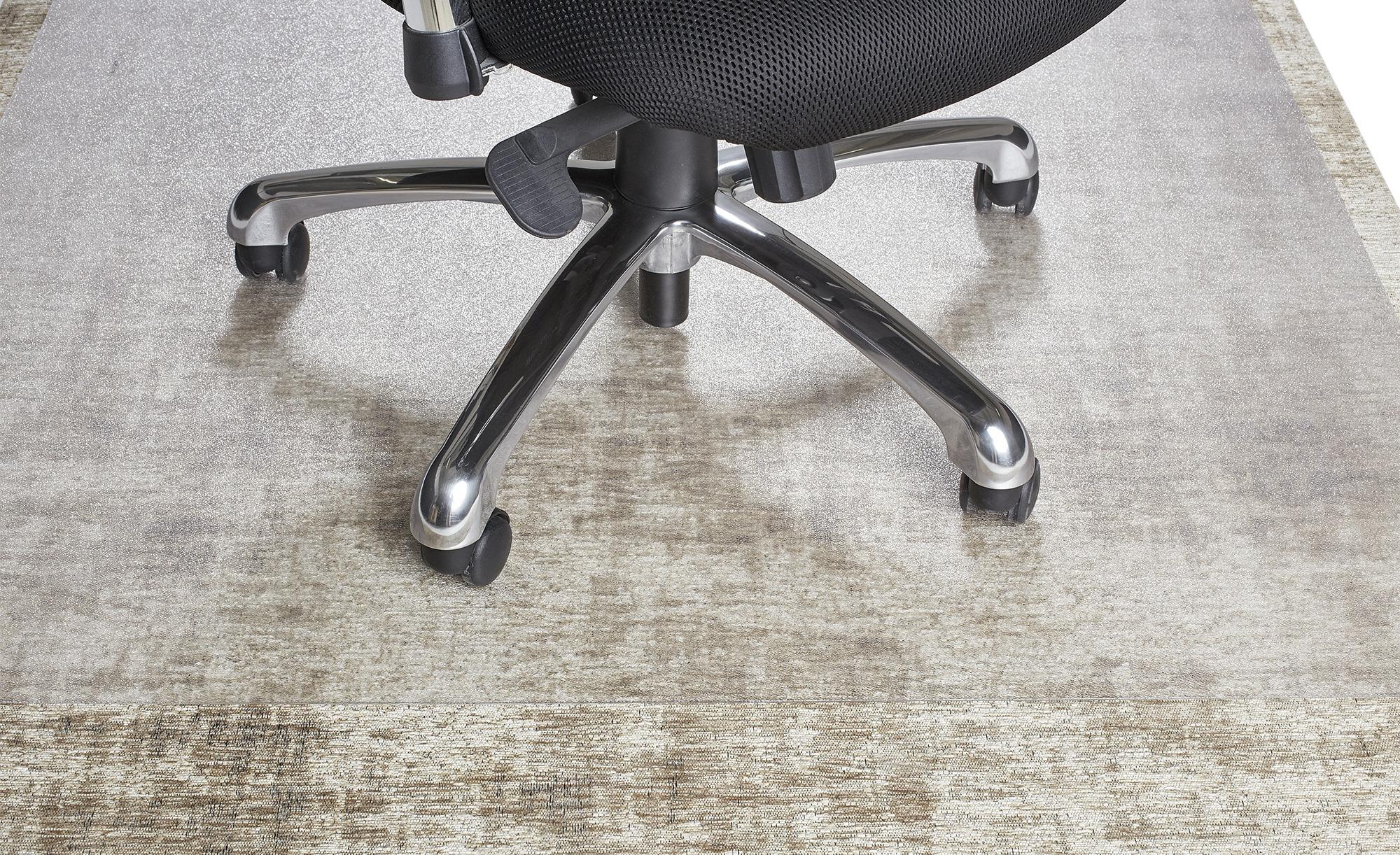 Bürostuhlunterlage ohne Noppen ¦ transparent/klar ¦ 100 % Polyethylen (PET) ¦ Maße (cm): B: 120 Teppiche > Teppichzubehör - Höffner