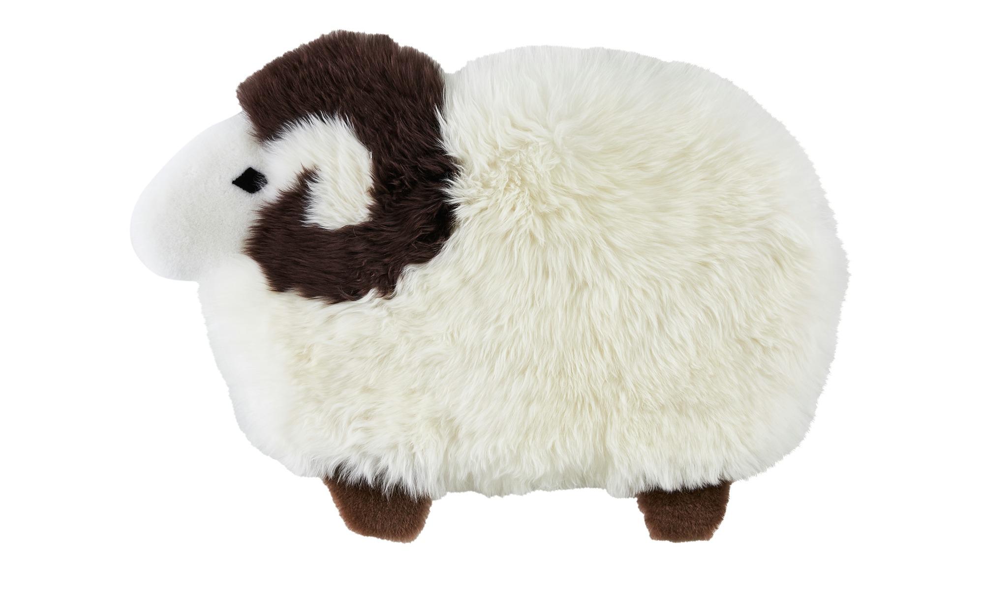 Lammfellteppich oder -kissenhülle