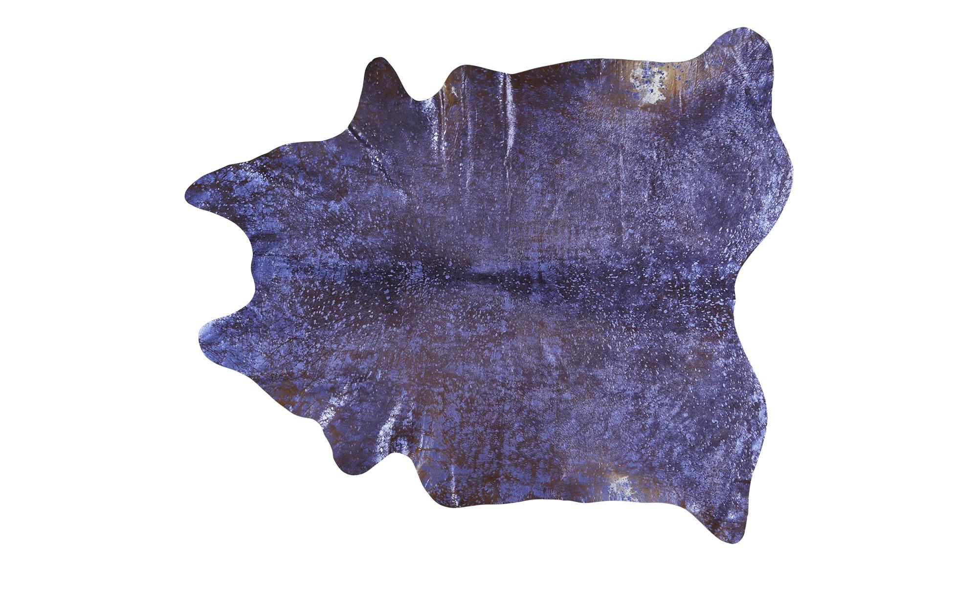 Rinderfell - Unikat  Pop Art ¦ lila/violett ¦ Rinderfell Teppiche > Auslegware - Höffner