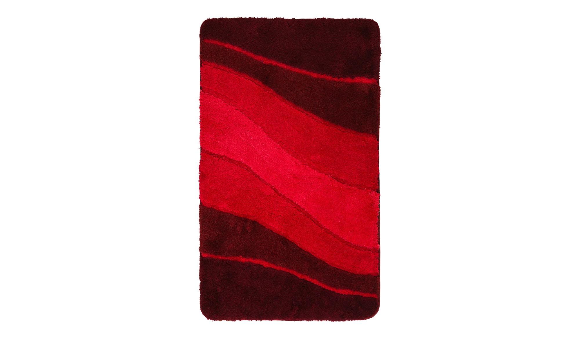 MEUSCH Badteppich  Ocean ¦ rot ¦ 100% Polyacryl ¦ Maße (cm): B: 60 Badtextilien und Zubehör > Badematten & Badvorleger - Höffner