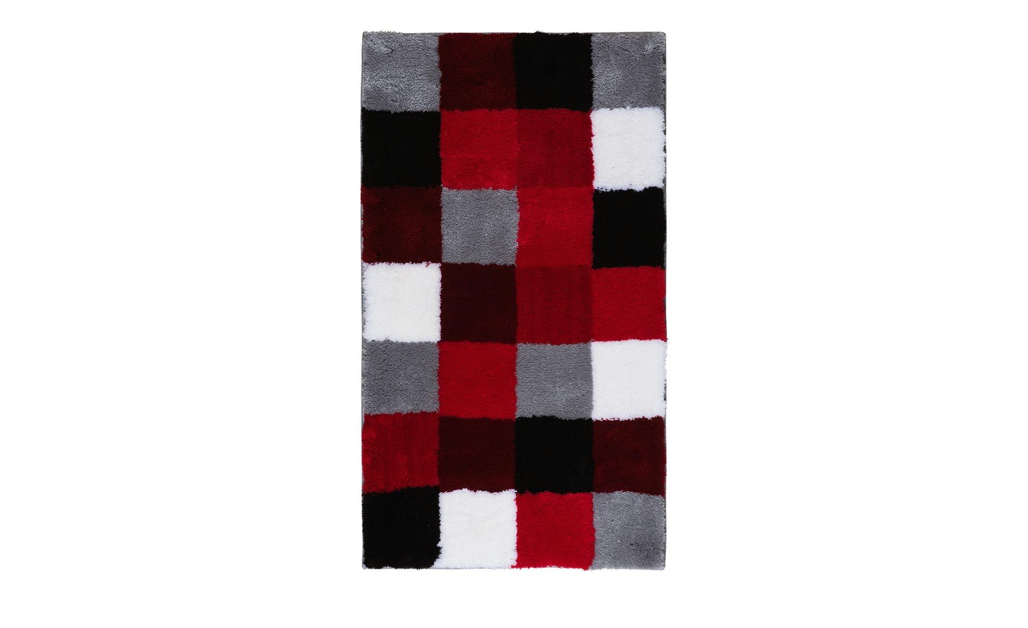 kleine wolke badteppich caro rot 100 polyacryl. Black Bedroom Furniture Sets. Home Design Ideas