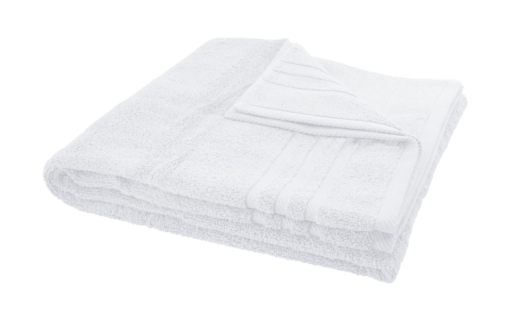 LAVIDA Duschtuch  Soft Cotton ¦ weiß ¦ reine Micro-Baumwolle ¦ Maße (cm): B: 70 Badtextilien und Zubehör > Handtücher & Badetücher > Duschtücher - Höffner