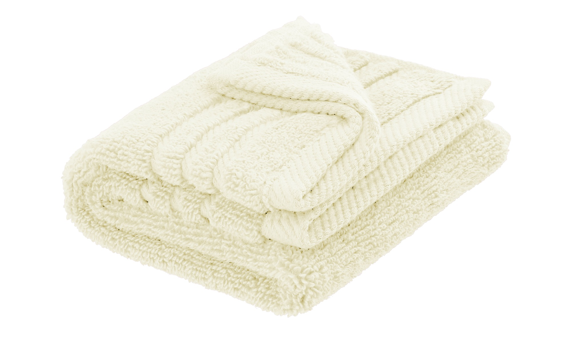LAVIDA Gästetuch  Soft Cotton ¦ creme ¦ reine Micro-Baumwolle ¦ Maße (cm): B: 30 Badtextilien und Zubehör > Handtücher & Badetücher > Gästetücher - Höffner