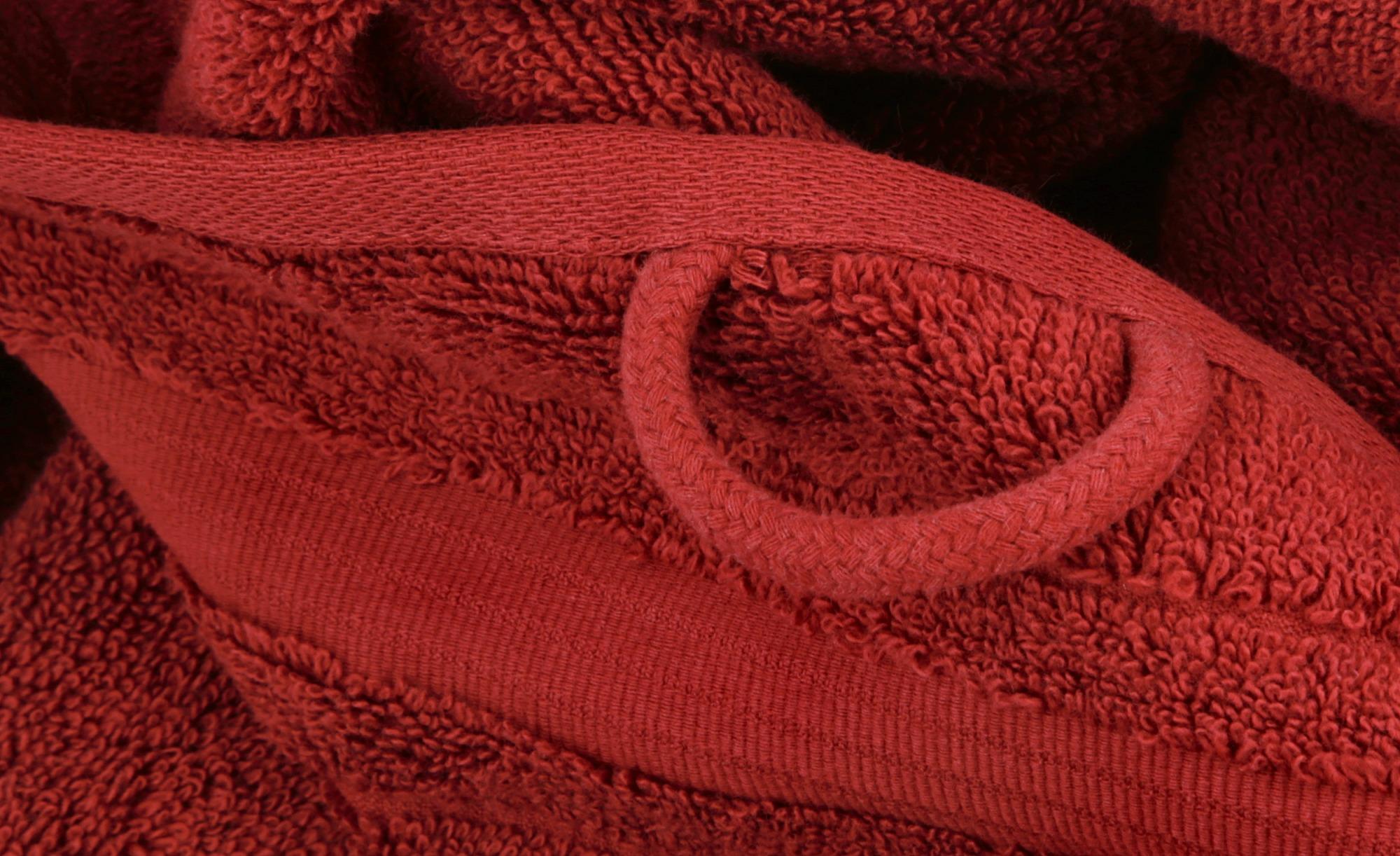 VOSSEN Duschtuch  Soft Dreams ¦ rot ¦ 100% Baumwolle ¦ Maße (cm): B: 67 Badtextilien und Zubehör > Handtücher & Badetücher > Duschtücher - Höffner