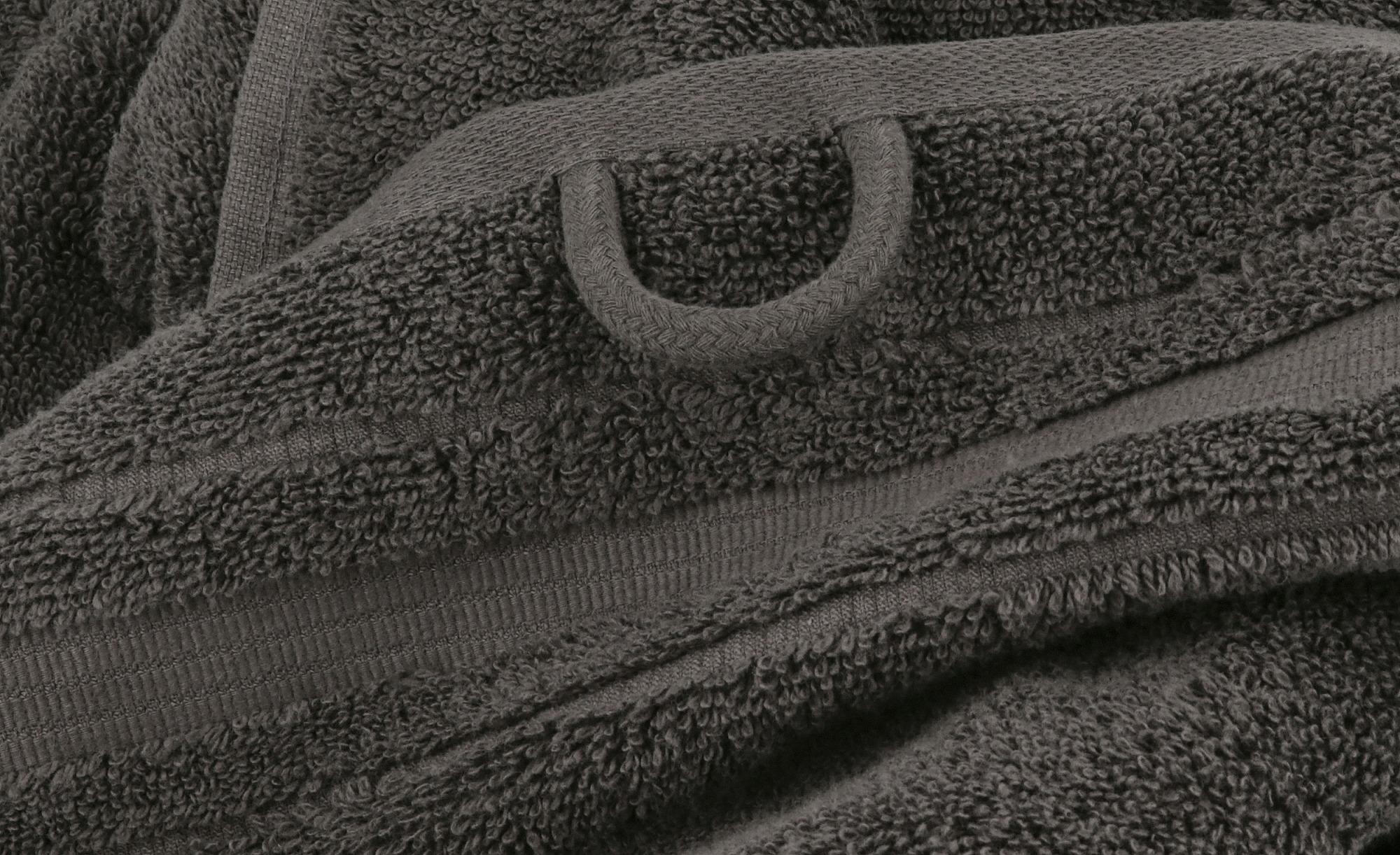 VOSSEN Badetuch  Soft Dreams ¦ grau ¦ 100% Baumwolle ¦ Maße (cm): B: 100 Badtextilien und Zubehör > Badetücher > Badetücher 100x150 cm - Höffner