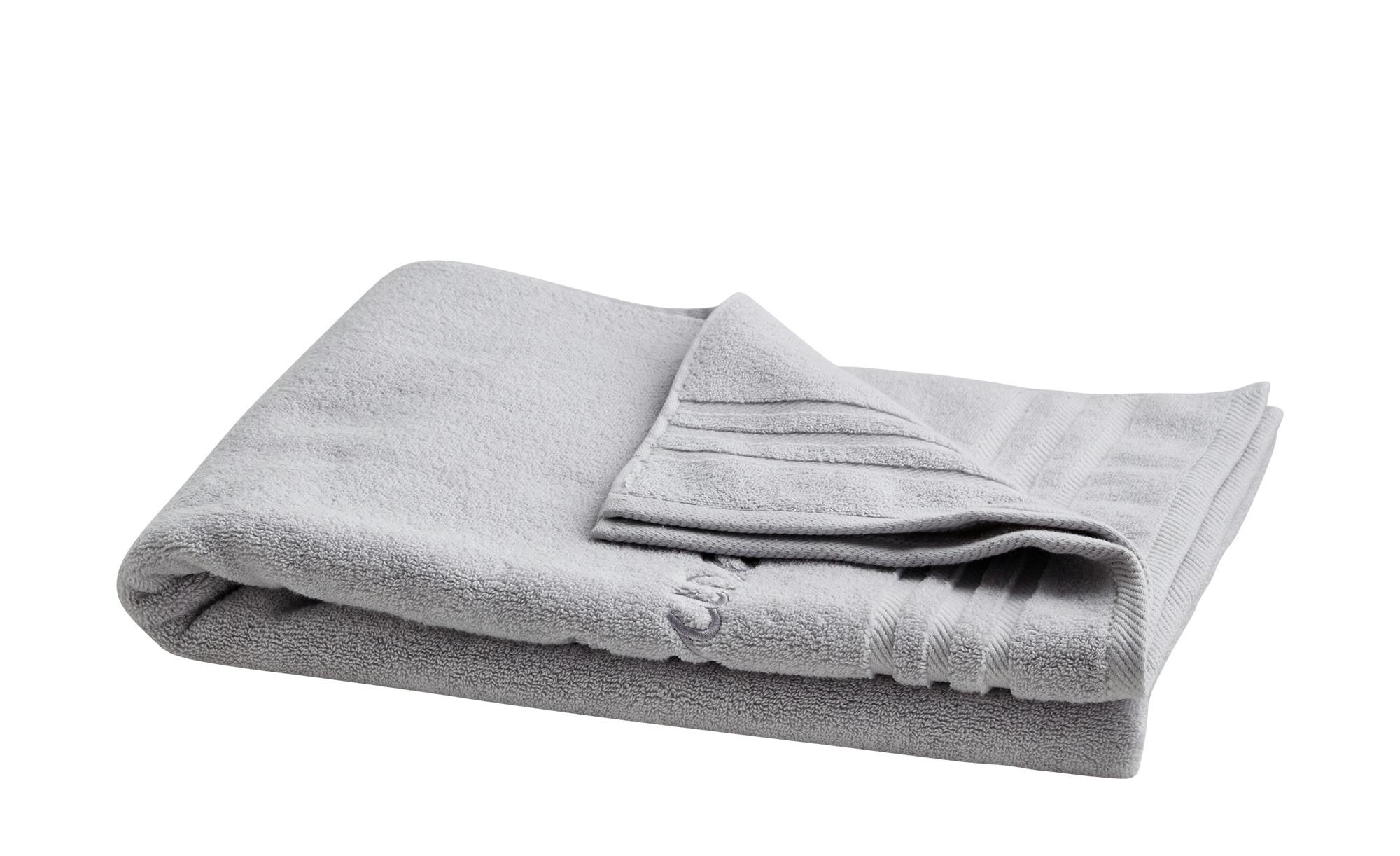 LAVIDA Saunatuch  Sauna Soft Cotton ¦ grau ¦ reine Baumwolle Badtextilien und Zubehör > Handtücher & Badetücher > Badetücher & Saunatücher - Höffner