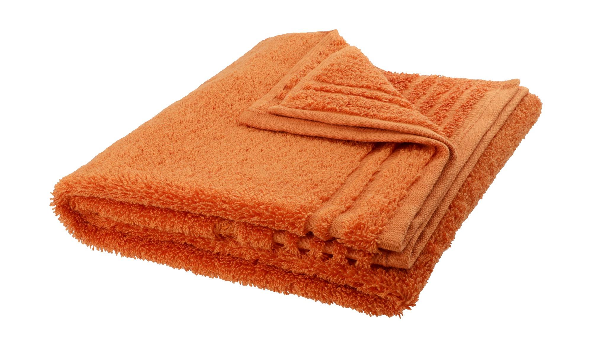 VOSSEN Handtuch  Vienna Supersoft ¦ orange ¦ 100% Baumwolle ¦ Maße (cm): B: 50 Badtextilien und Zubehör > Handtücher & Badetücher > Handtücher - Höffner