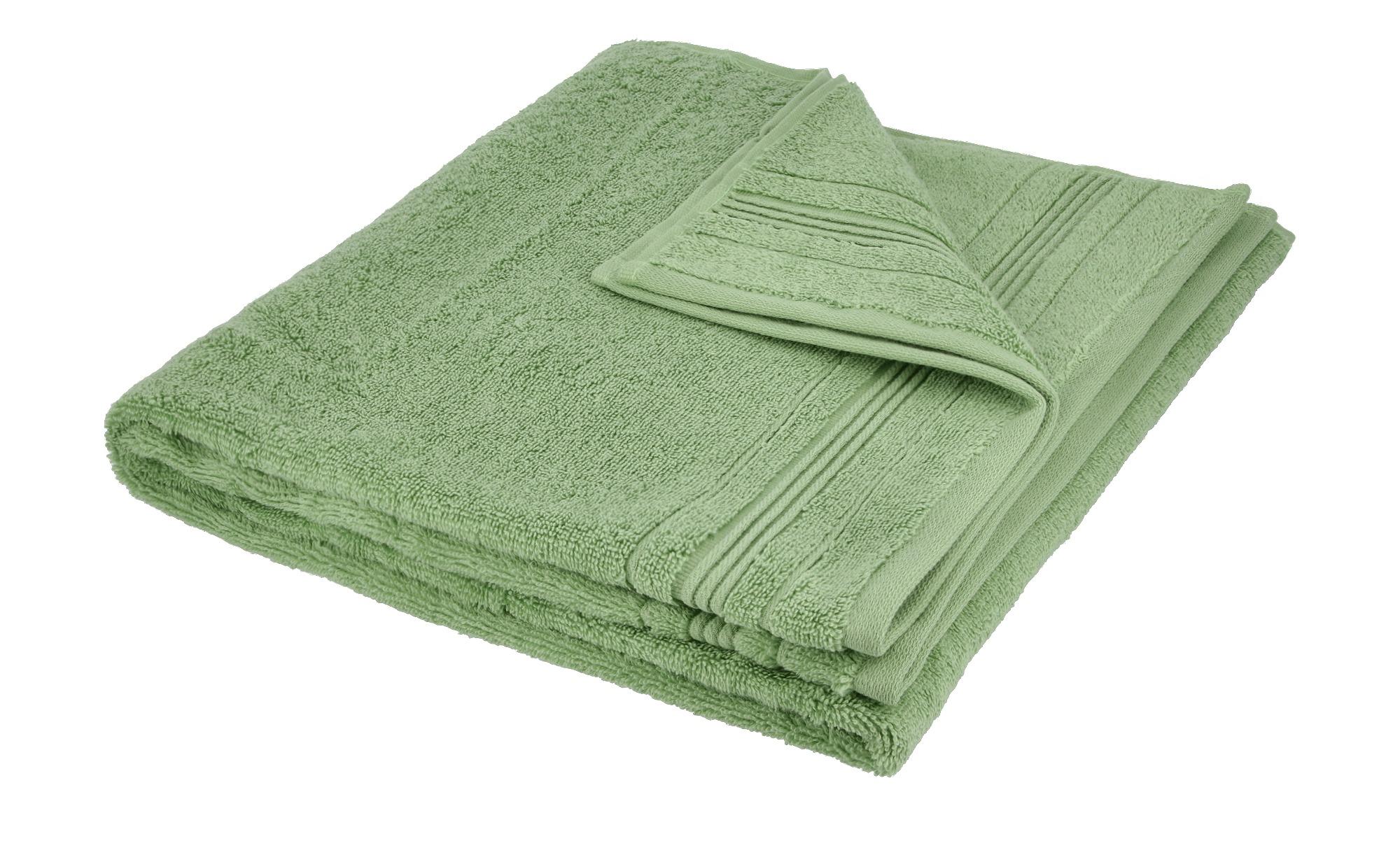 VOSSEN Duschtuch  Soft Dreams ¦ grün ¦ 100% Baumwolle ¦ Maße (cm): B: 67 Badtextilien und Zubehör > Handtücher & Badetücher > Duschtücher - Höffner