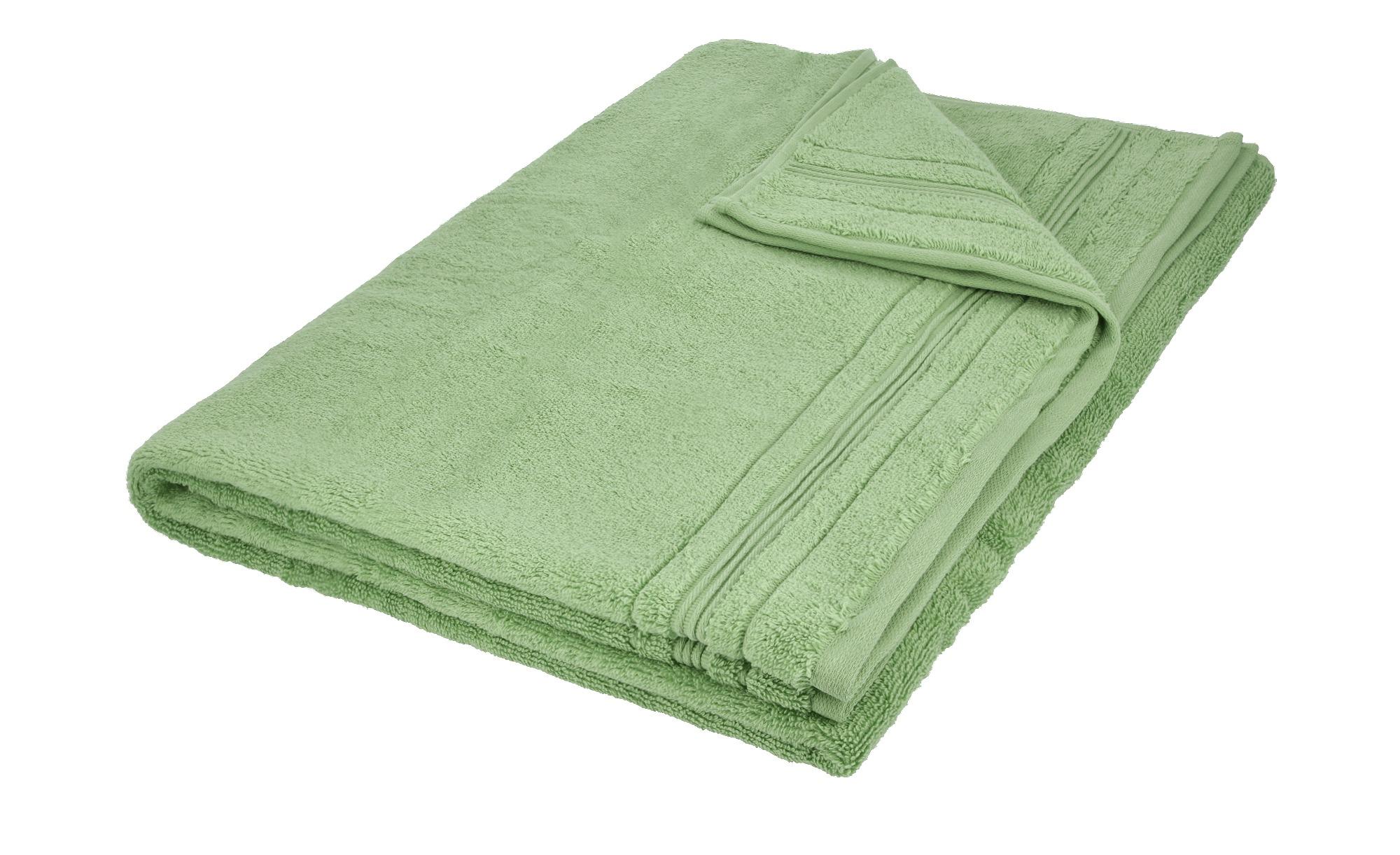 VOSSEN Badetuch  Soft Dreams ¦ grün ¦ 100% Baumwolle ¦ Maße (cm): B: 100 Badtextilien und Zubehör > Badetücher > Badetücher 100x150 cm - Höffner