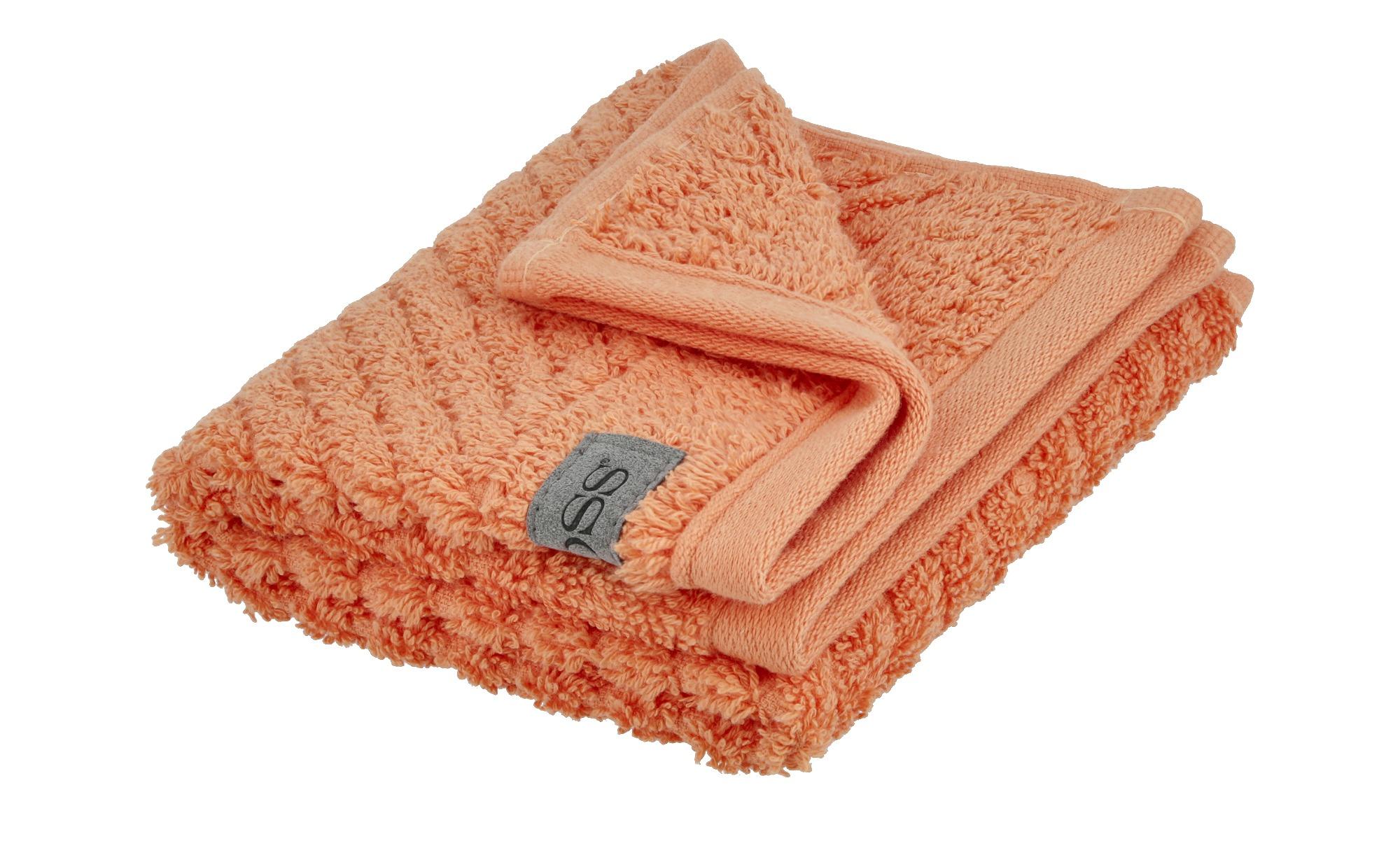 Ross Gästetuch  4006 ¦ orange ¦ 100% Baumwolle ¦ Maße (cm): B: 30 Badtextilien und Zubehör > Handtücher & Badetücher > Gästetücher - Höffner