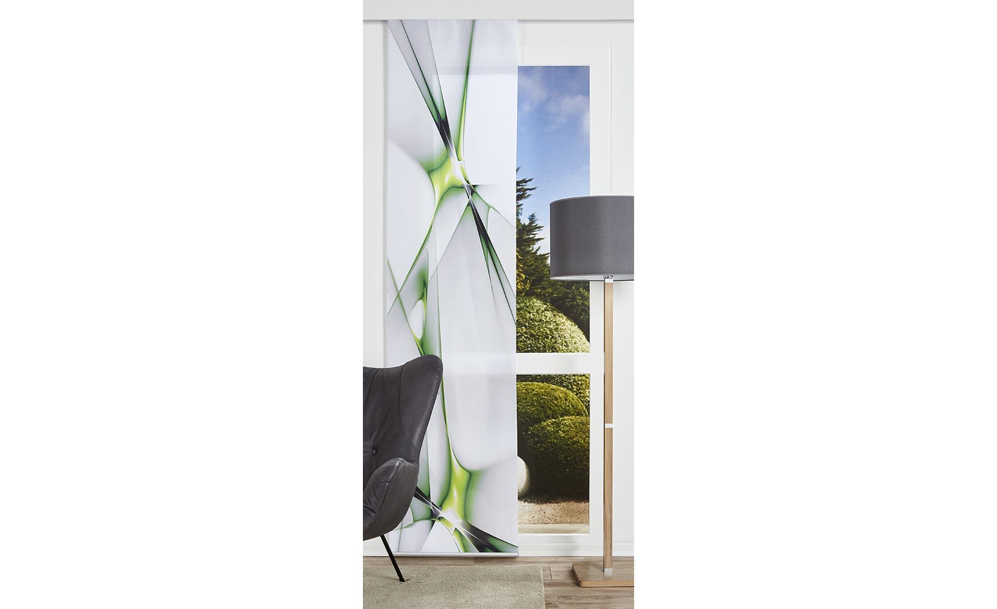 Panello ¦ grün ¦ Polyester ¦ Maße (cm): B: 60 Gardinen & Vorhänge > Gardinen & Fertigstore > Schiebegardinen - Höffner