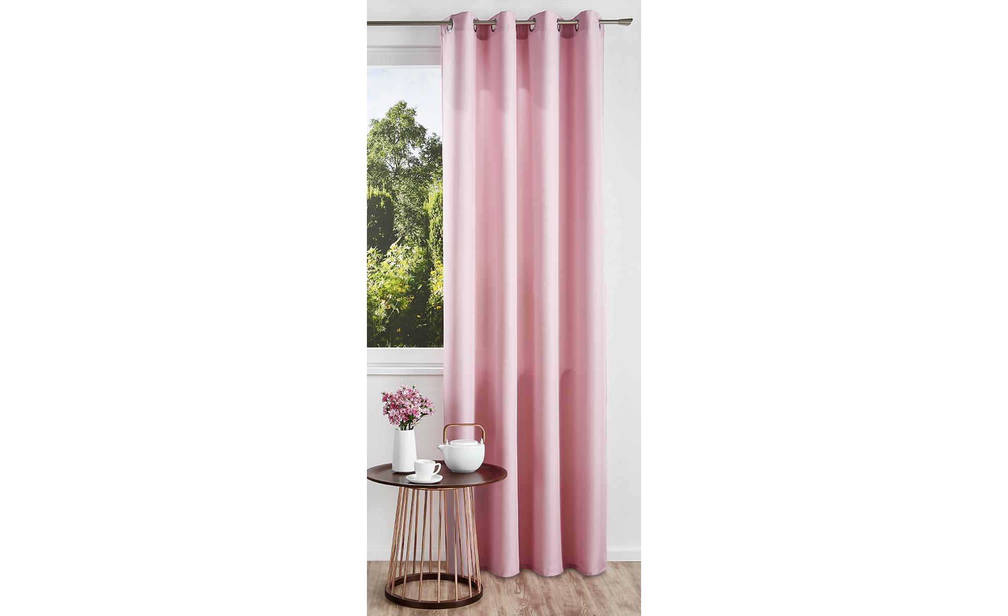 como Ösenschal  Ocean ¦ rosa/pink ¦ Polyester ¦ Maße (cm): B: 140 Gardinen & Vorhänge > Gardinen & Fertigstore > Ösenschals - Höffner