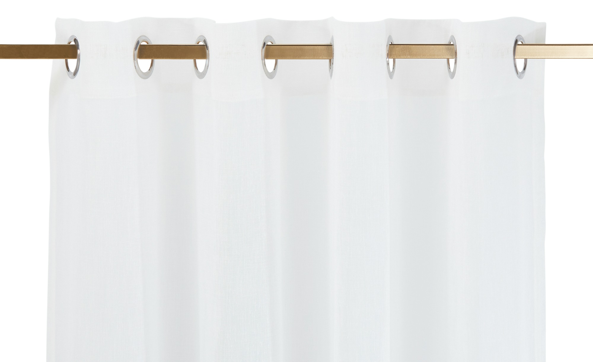como Ösenschal  Toni ¦ blau ¦ 100% Polyester ¦ Maße (cm): B: 140 H: 245 Gardinen & Vorhänge > Gardinen & Fertigstore > Ösenschals - Höffner