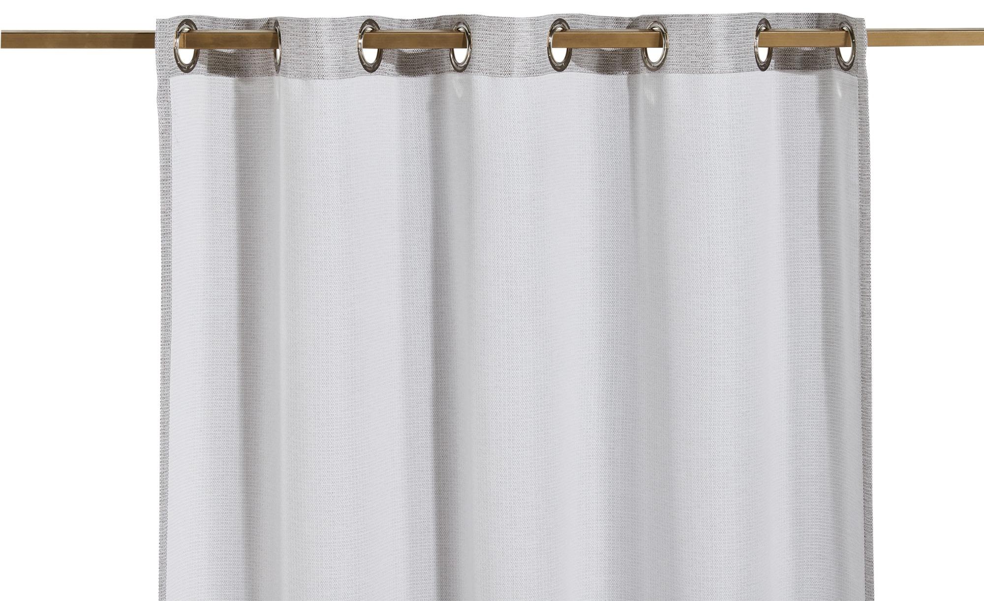 como Ösenschal  Mara ¦ beige ¦ 100% Polyester ¦ Maße (cm): B: 140 H: 245 Gardinen & Vorhänge > Gardinen & Fertigstore > Ösenschals - Höffner