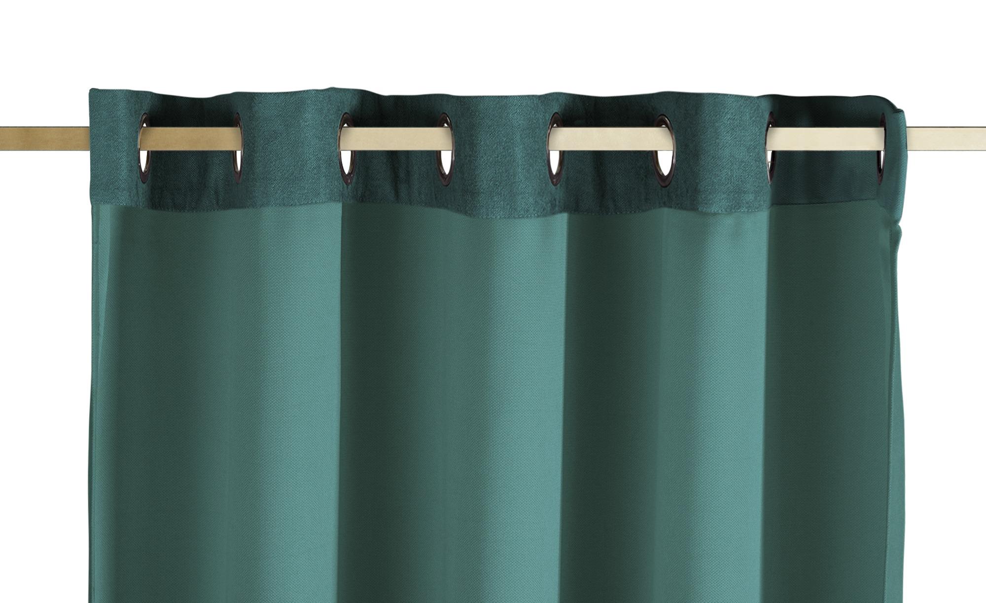como Ösenschal  Carmen ¦ grün ¦ 100% Polyester ¦ Maße (cm): B: 140 Gardinen & Vorhänge > Gardinen & Fertigstore > Ösenschals - Höffner