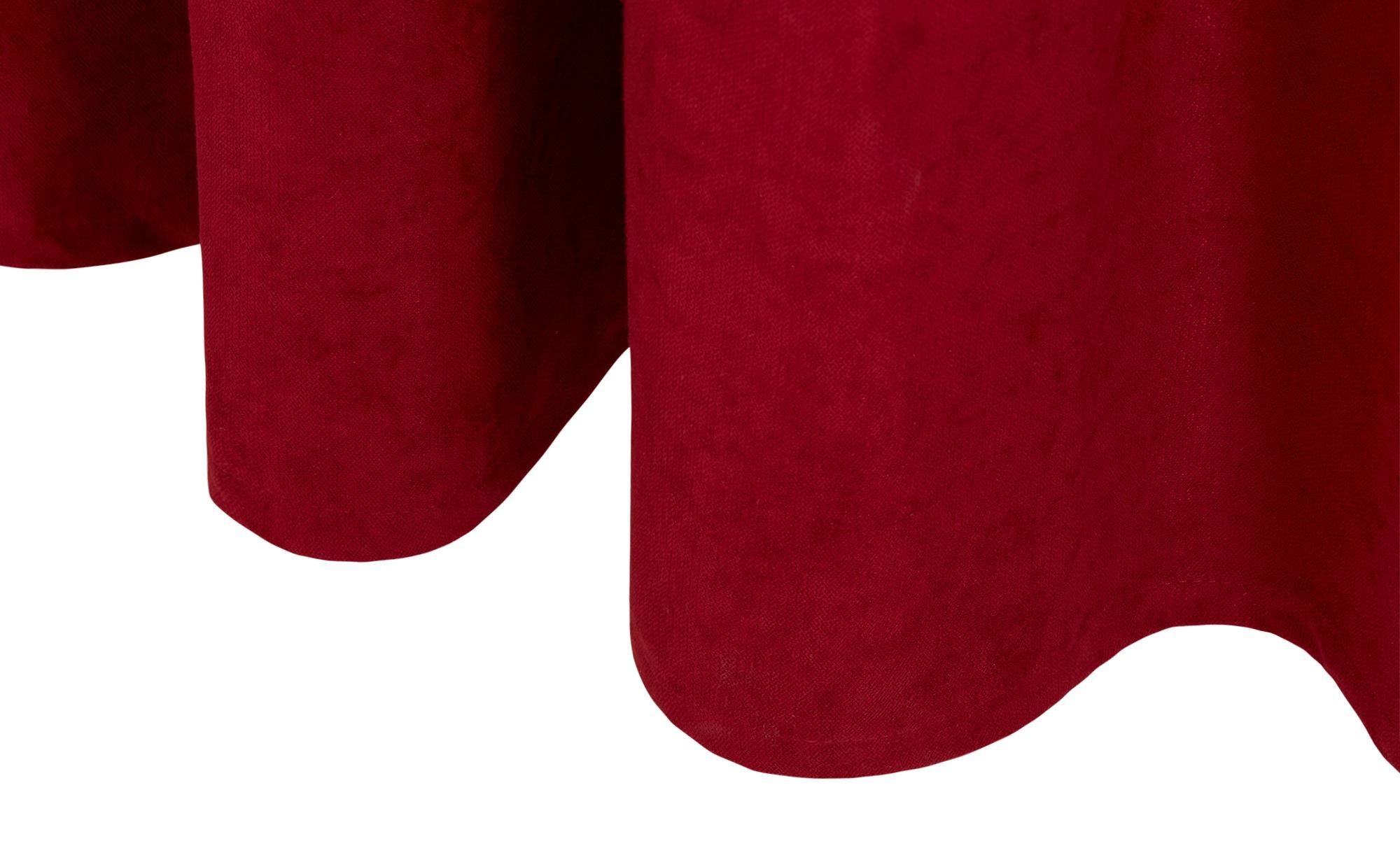 como Ösenschal  Carmen ¦ rot ¦ 100% Polyester ¦ Maße (cm): B: 140 Gardinen & Vorhänge > Gardinen & Fertigstore > Ösenschals - Höffner