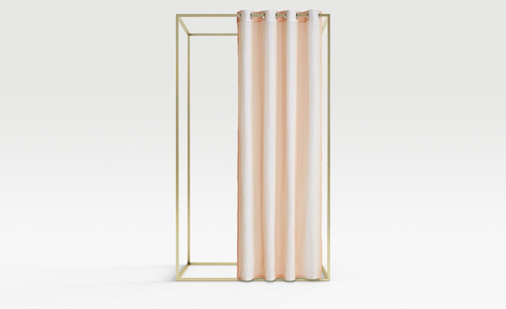 Esprit Ösenschal  E-Vel ¦ rosa/pink ¦ 100% Polyester ¦ Maße (cm): B: 140 Gardinen & Vorhänge > Gardinen & Fertigstore > Ösenschals - Höffner