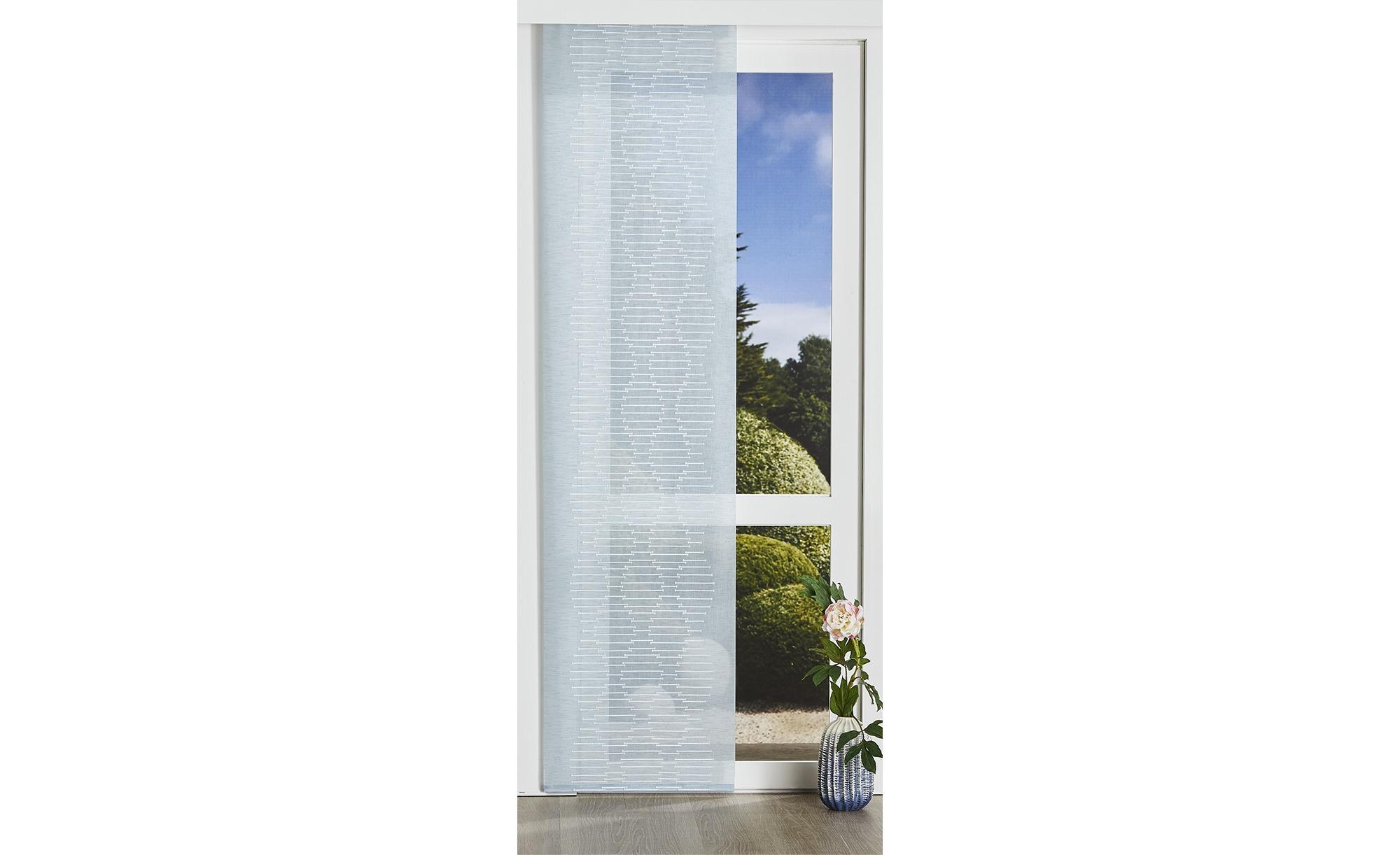 Panello  Senso ¦ blau ¦ 100% Polyester ¦ Maße (cm): B: 60 Gardinen & Vorhänge > Gardinen & Fertigstore > Schiebegardinen - Höffner