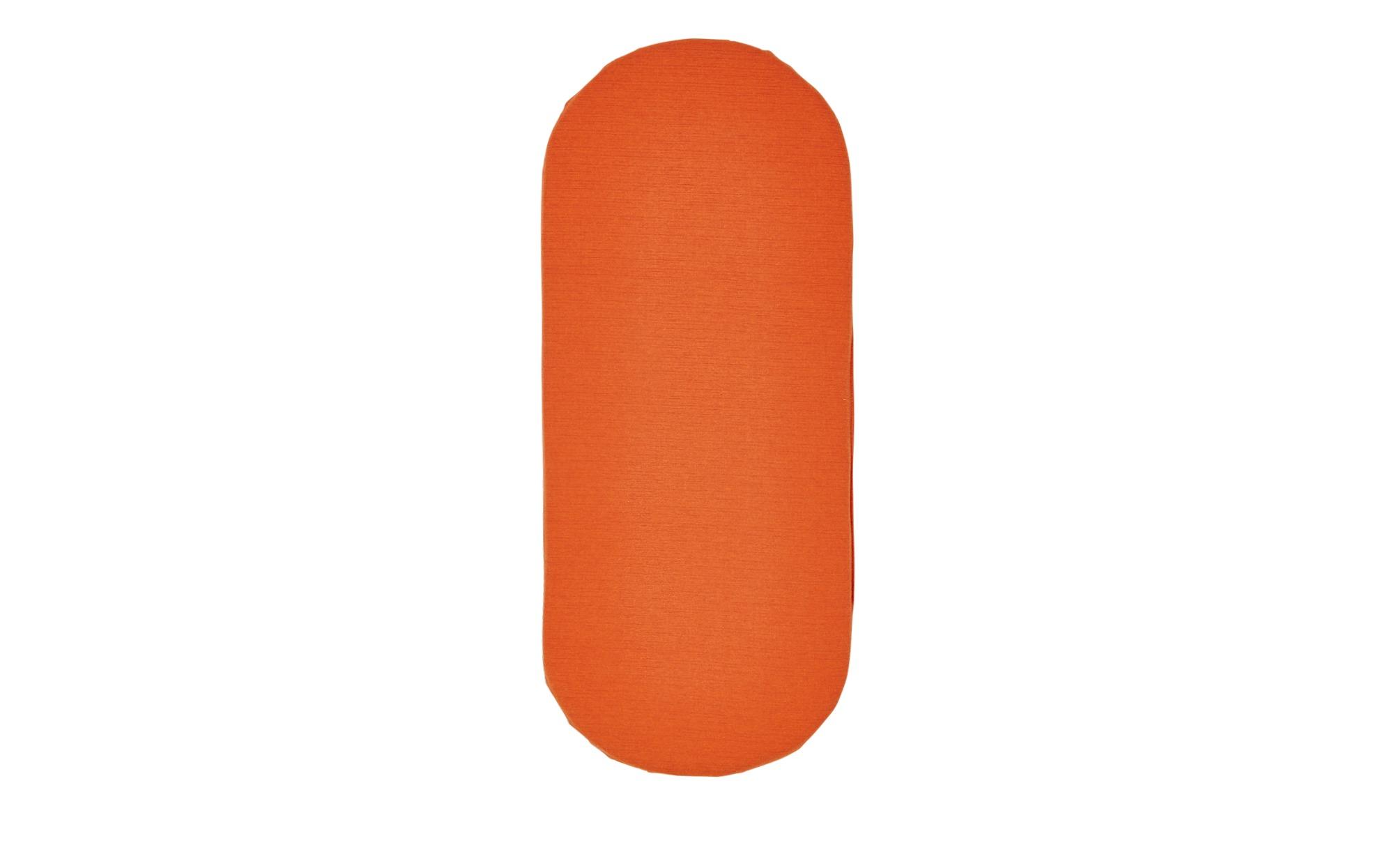 Bankkissen  Wien ¦ orange ¦ 60% Baumwolle , 40% Polyester ¦ Maße (cm): B: 39 Garten > Auflagen & Kissen > Sonstige Sitzkissen - Höffner