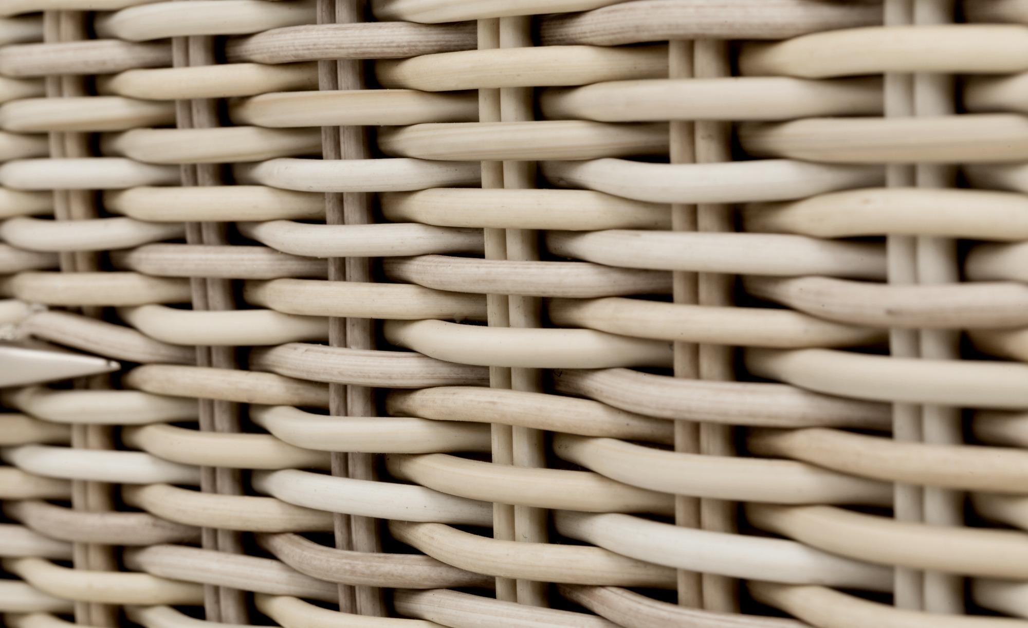 a casa mia Gartentisch  Sylt 1 ¦ beige ¦ Aluminium pulverbeschichtet/ PE-Geflecht ¦ Maße (cm): B: 53 H: 48 Garten > Gartenmöbel > Gartentische - Höffner