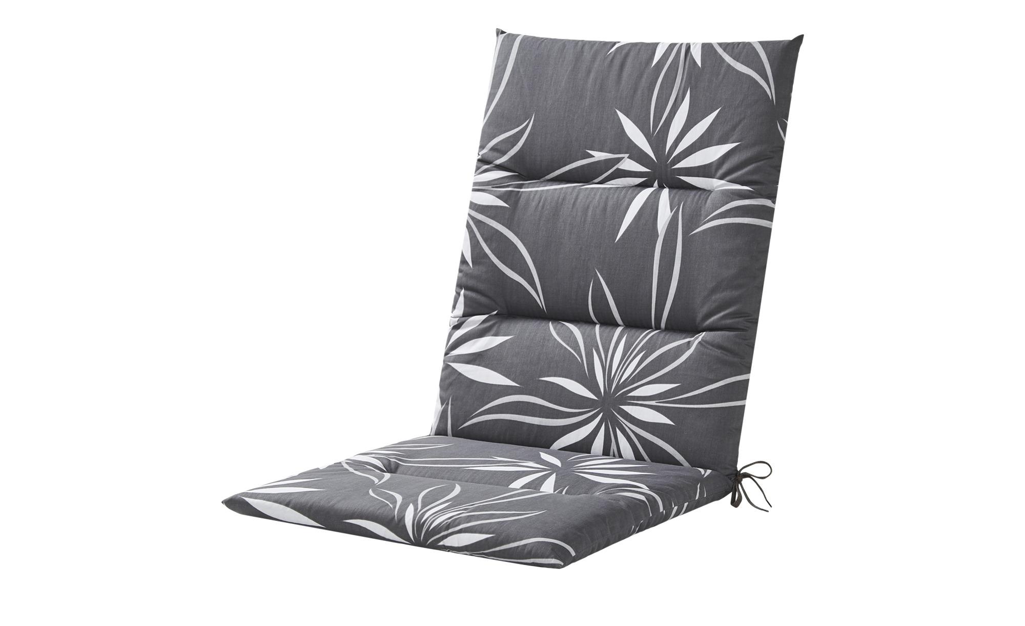 KETTLER Polska Auflage  Grey Bloom Alutex ¦ grau ¦ Maße (cm): B: 50 H: 4 Garten > Auflagen & Kissen > Mittellehner-Auflagen - Höffner