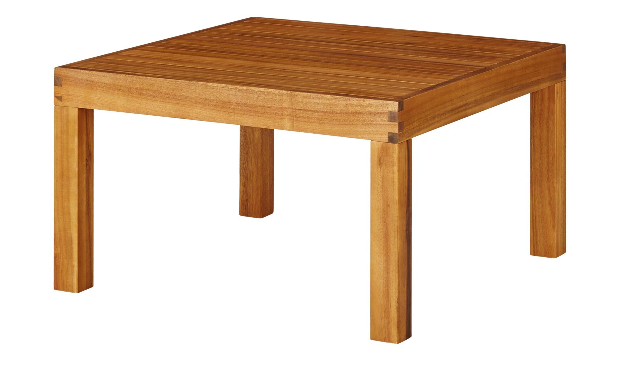 Yorkshire Gartentisch  Cape ¦ holzfarben ¦ Akazie ¦ Maße (cm): B: 77 H: 51 T: 77 Garten > Gartenmöbel nach Materialien > Holz-Gartenmöbel - Höffner
