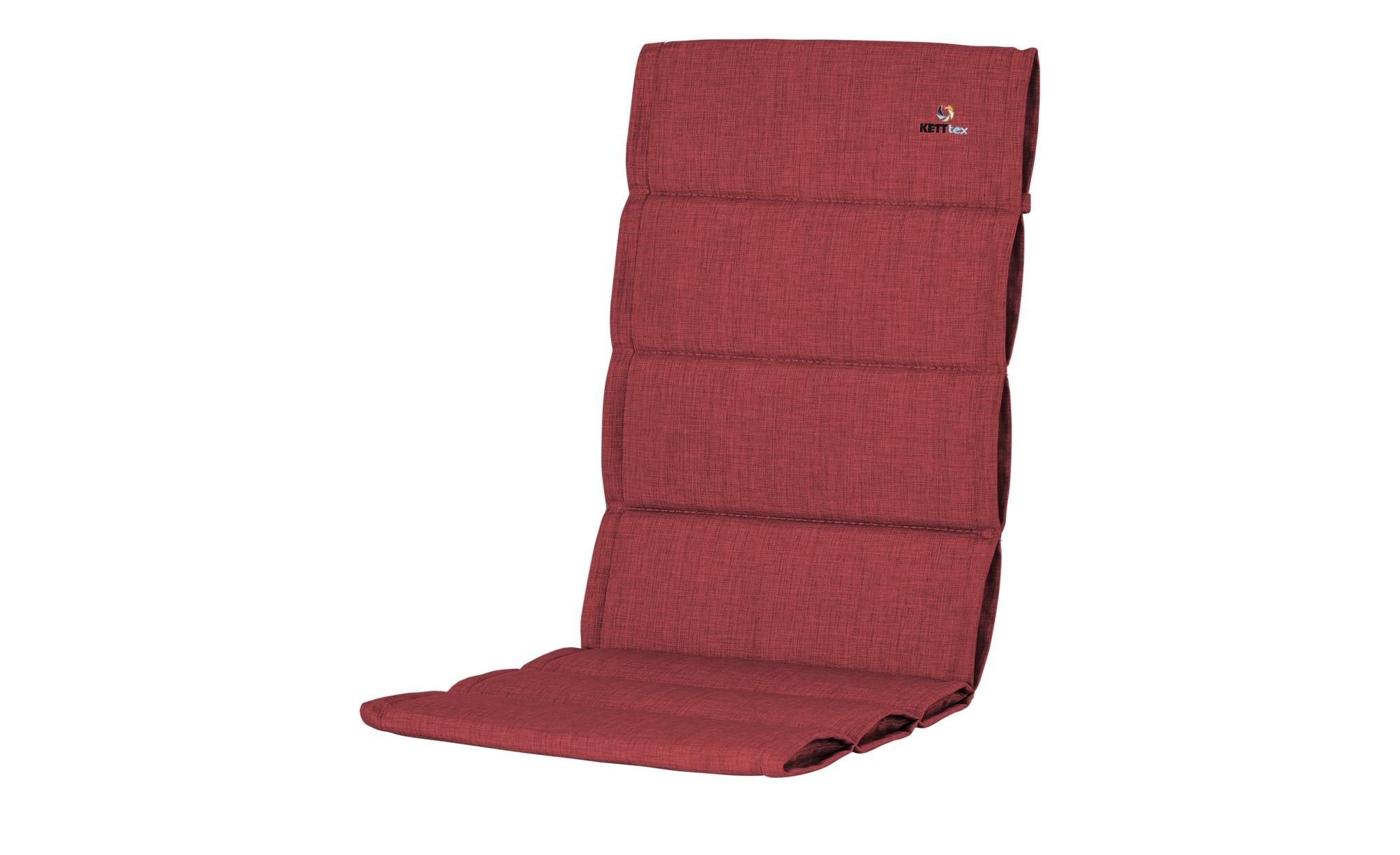 KETTLER Polska Auflage  Style rot ¦ rot ¦ Maße (cm): B: 50 H: 3 Garten > Auflagen & Kissen > Hochlehner-Auflagen - Höffner