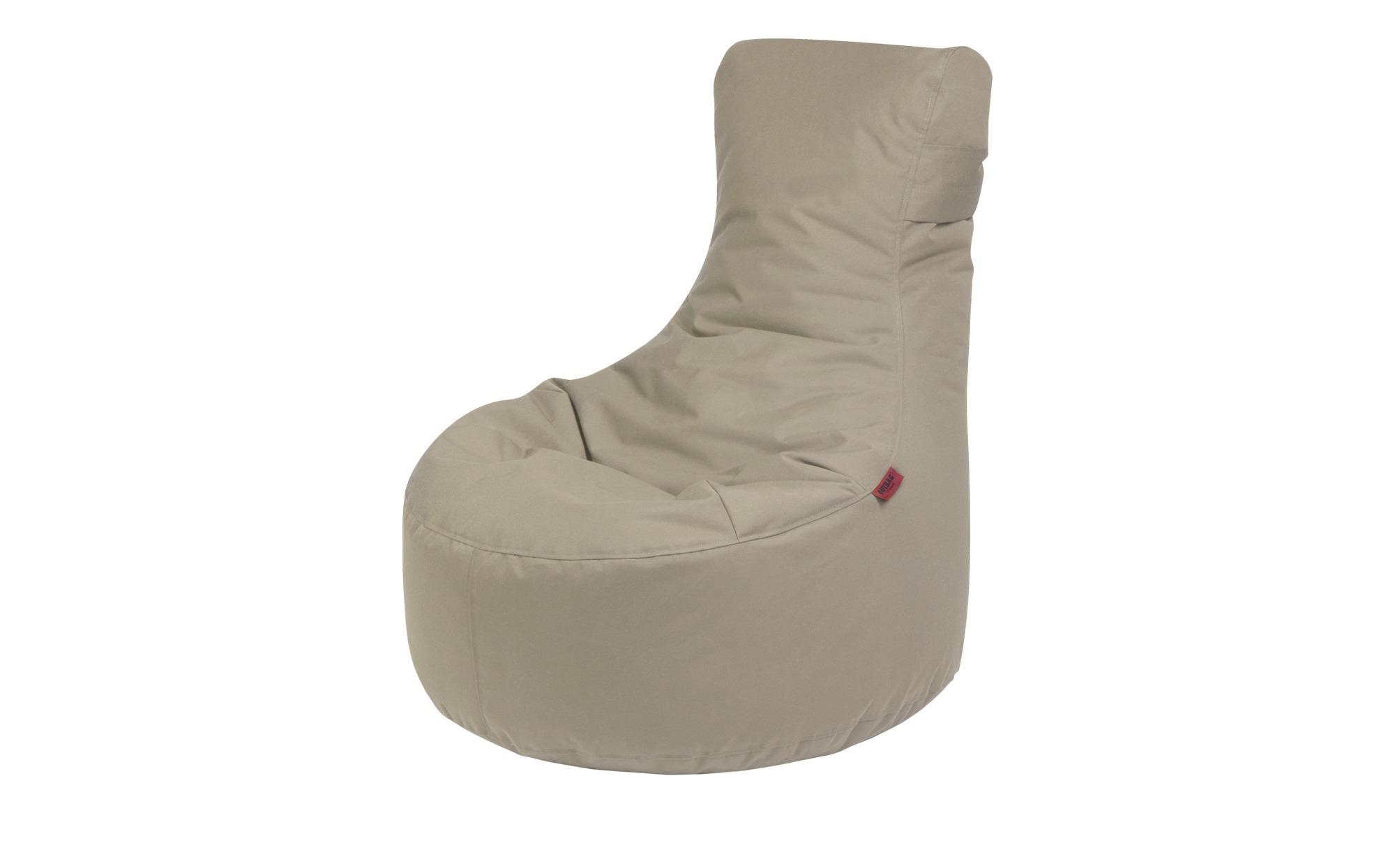 Sitzsack  Slope Plus ¦ grau ¦ Maße (cm): B: 85 H: 90 T: 85 Garten > Auflagen & Kissen > Outdoor-Sitzsäcke - Höffner