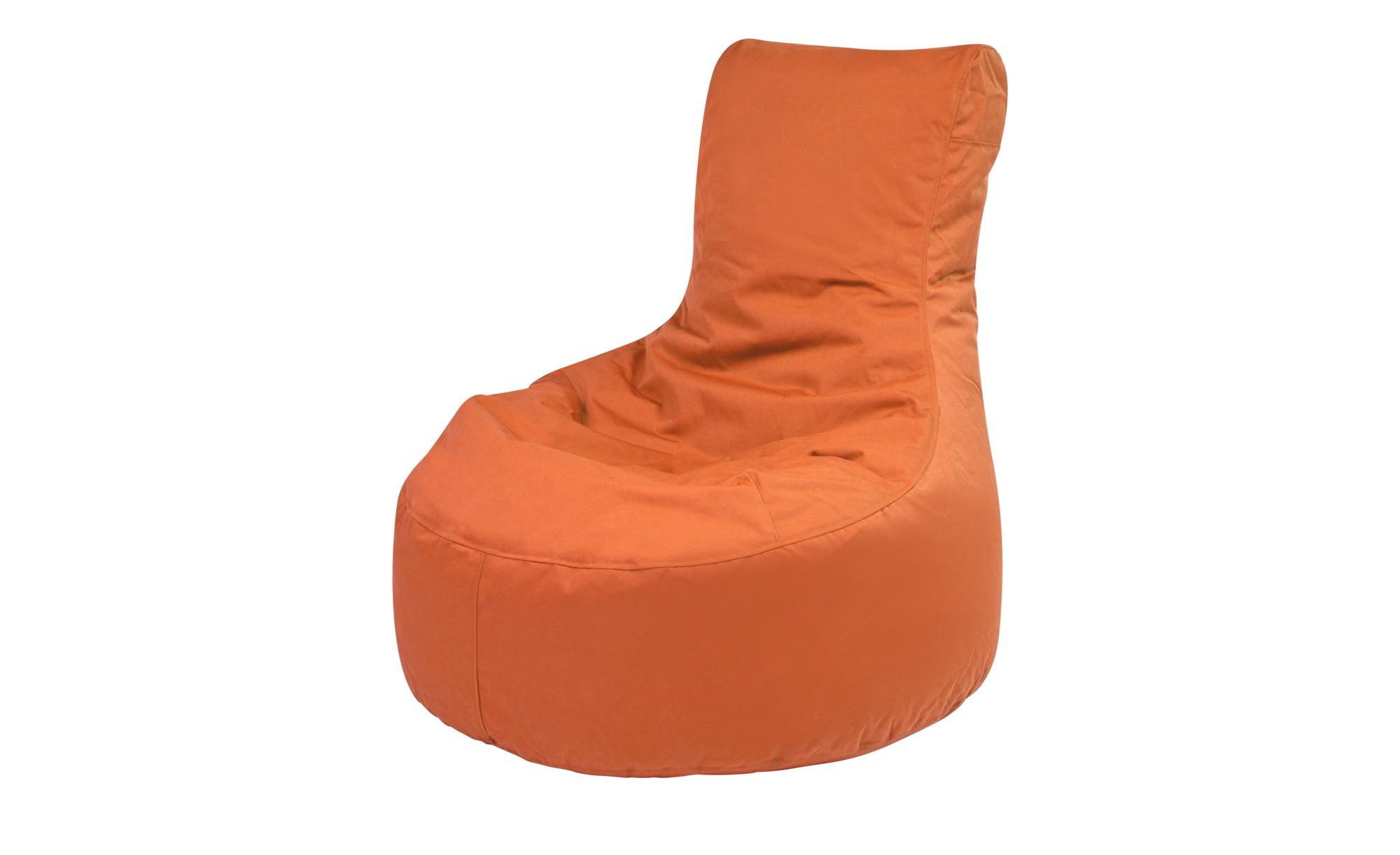 Sitzsack  Slope Plus ¦ orange ¦ Maße (cm): B: 85 H: 90 T: 85 Garten > Auflagen & Kissen > Outdoor-Sitzsäcke - Höffner
