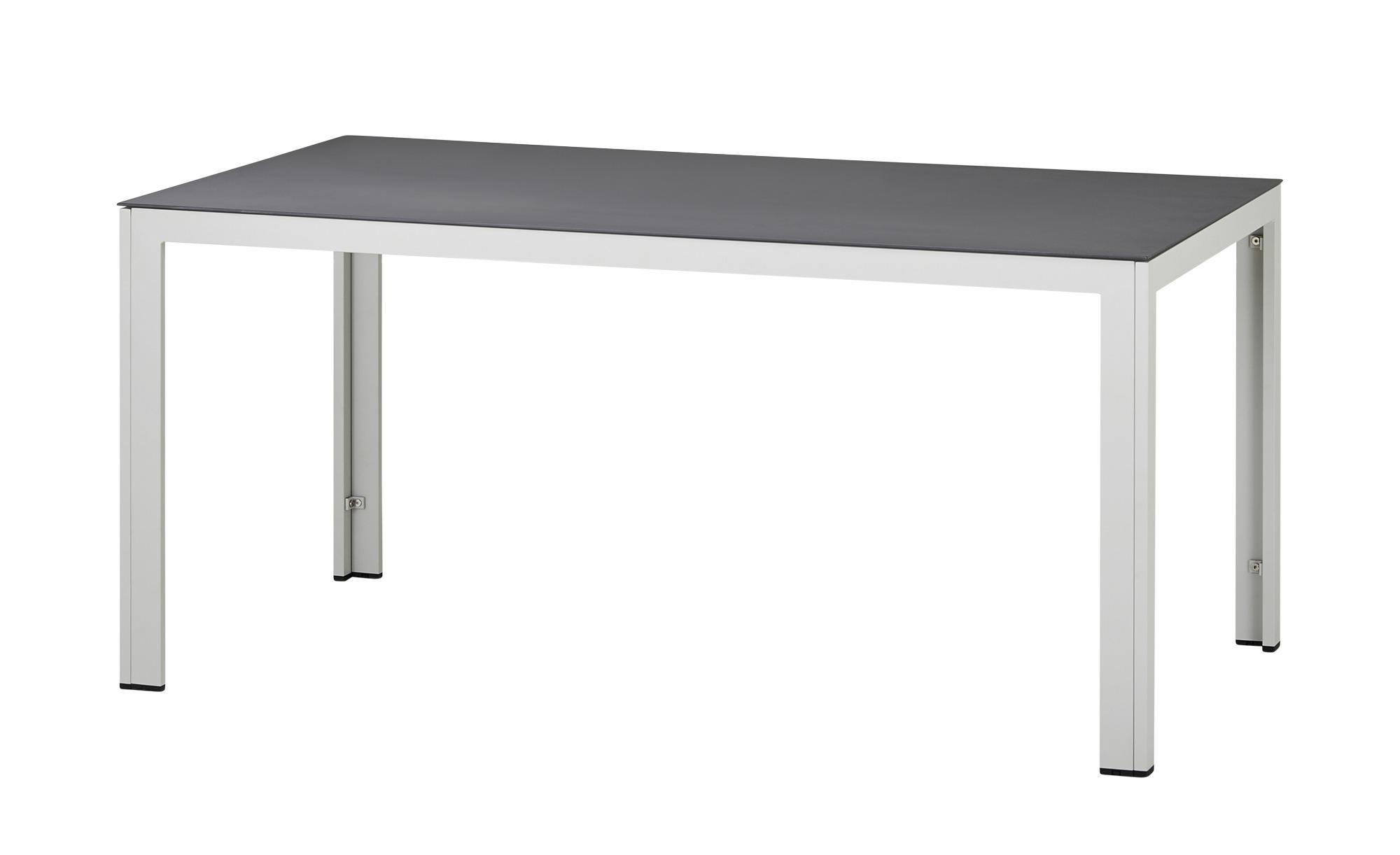 Tisch  Icy ¦ grau ¦ Maße (cm): B: 90 H: 75 Garten > Gartenmöbel > Gartentische - Höffner