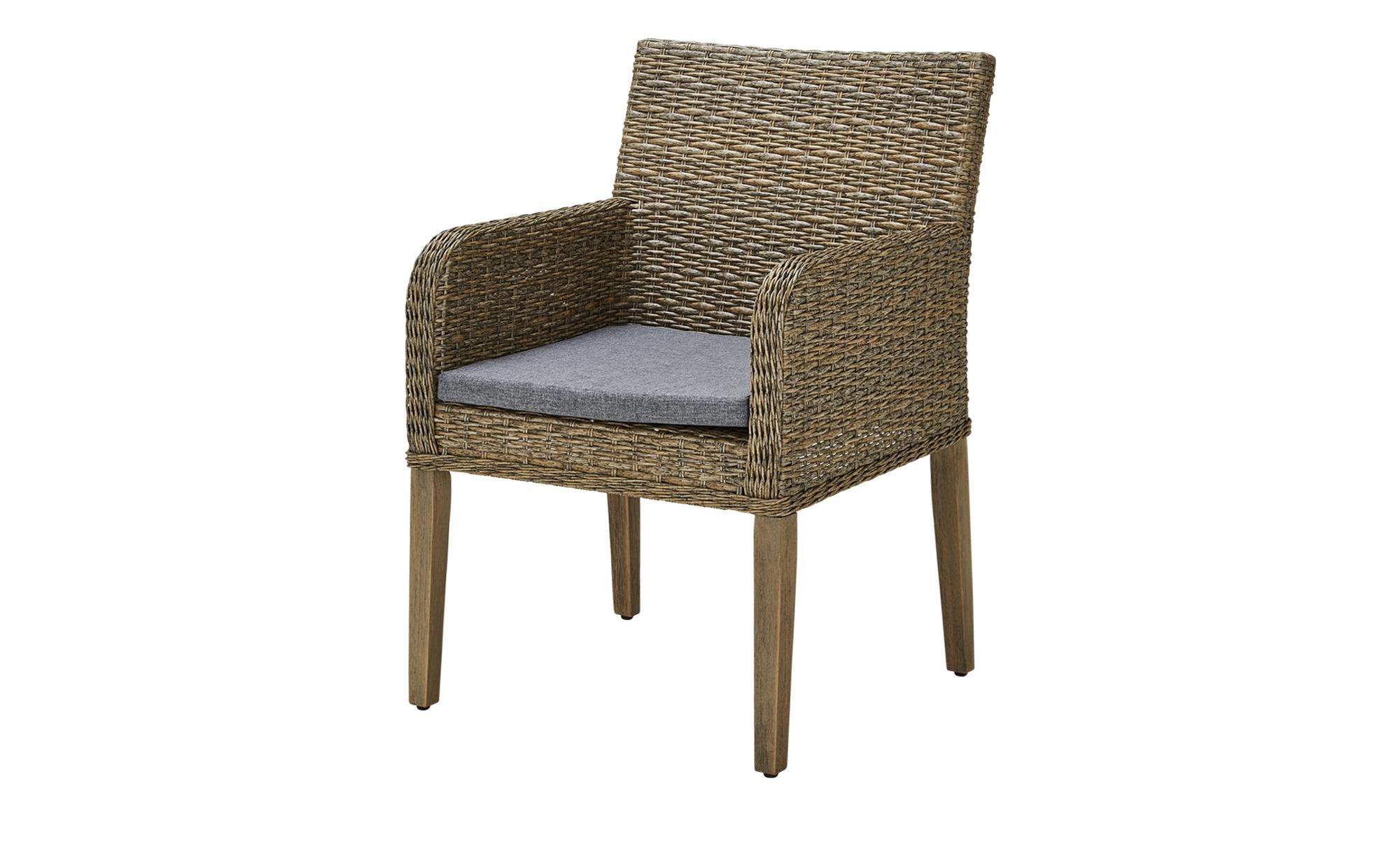 braun aluminium gartenst hle online kaufen m bel. Black Bedroom Furniture Sets. Home Design Ideas