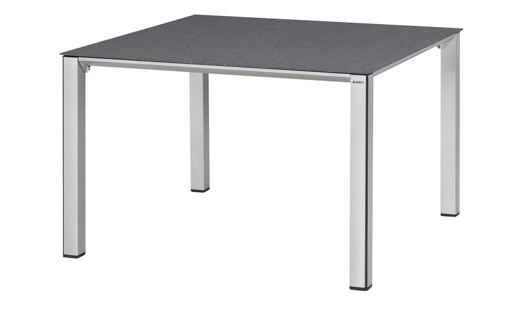 MWH Tisch  Elements ¦ silber ¦ Maße (cm): B: 100 H: 63,5 Garten > Gartenmöbel > Gartentische - Höffner