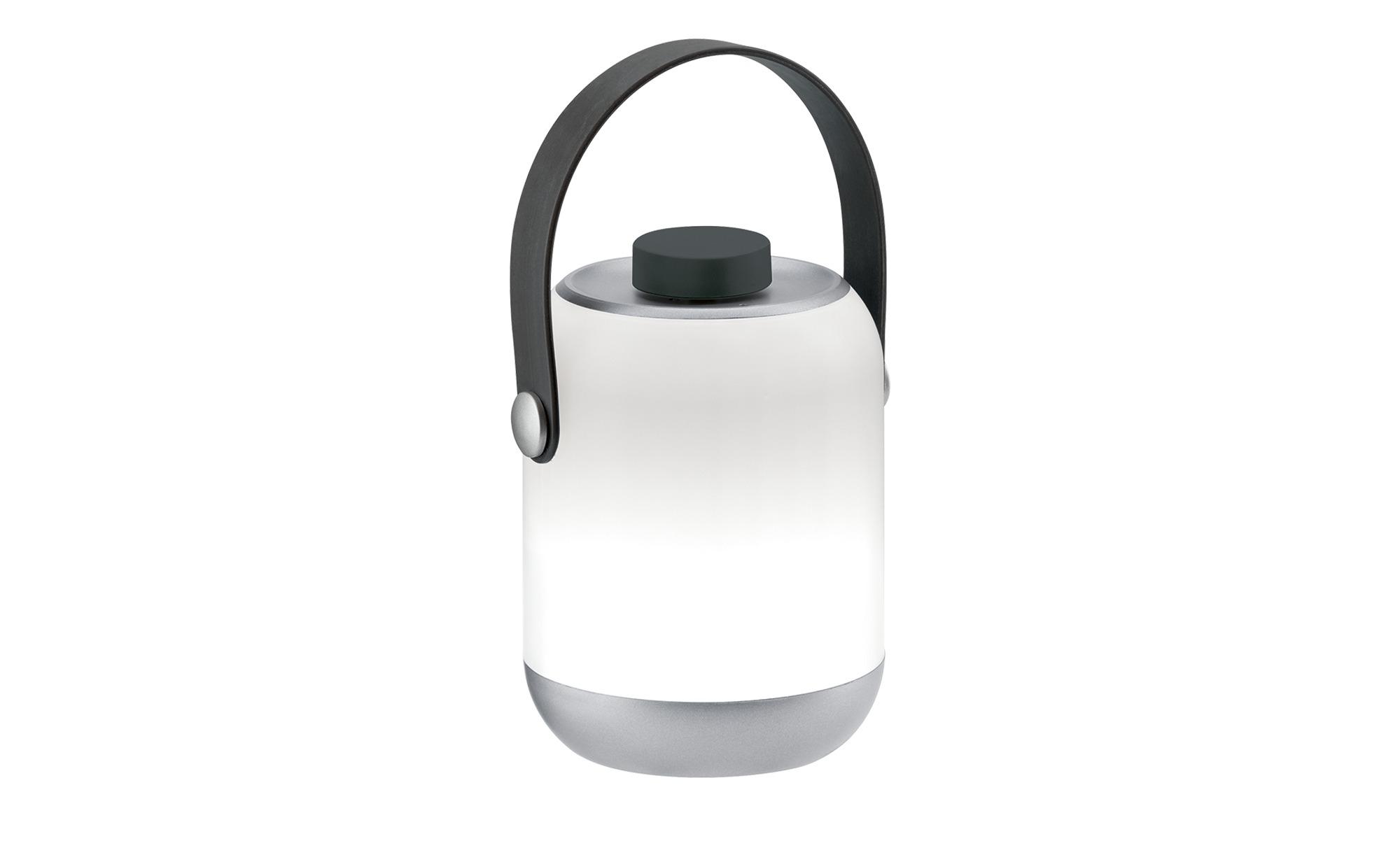 Mobile Außentischleuchte  Clutch ¦ silber ¦ Maße (cm): H: 12 Ø: 8.5 Garten > Gartenzubehör > Außenleuchten - Höffner | Lampen > Tischleuchten > Beistelltischlampen | Möbel Höffner DE