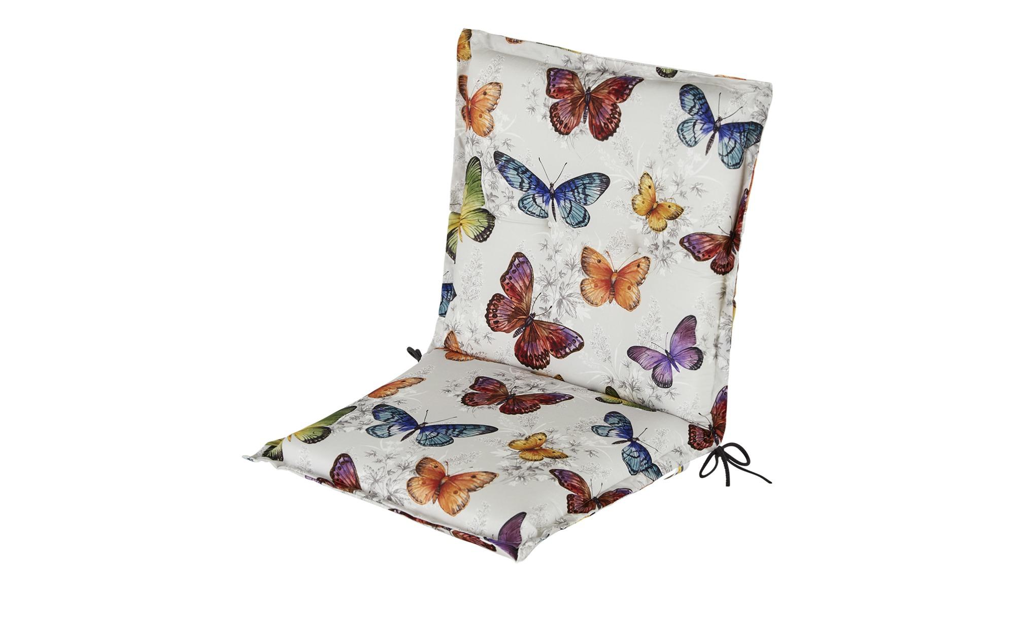 Schwienhorst Auflage   Butterfly ¦ mehrfarbig ¦ Maße (cm): B: 50 H: 9 Garten > Auflagen & Kissen > Niederlehner-Auflagen - Höffner | Garten > Gartenmöbel > Sitzauflagen | Möbel Höffner DE