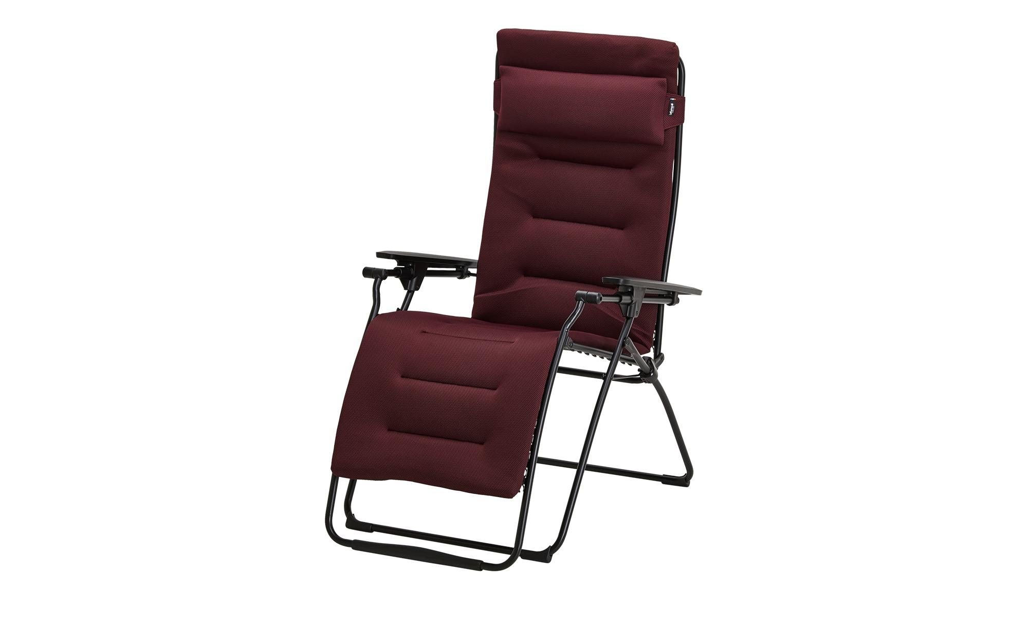Relaxsessel  Futura Air Comfort ¦ rot ¦ Maße (cm): B: 76 H: 90 T: 125 Garten > Gartenmöbel > Gartenstühle - Höffner