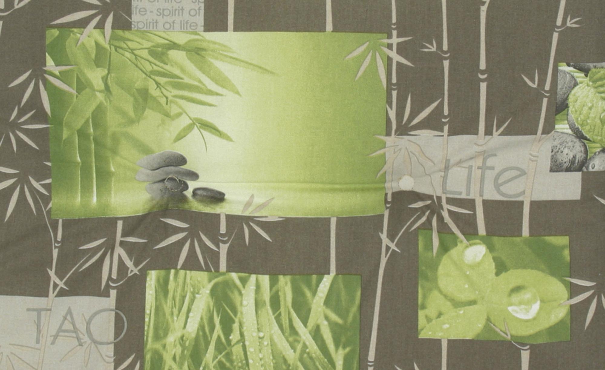 Auflage  Bamboo 2 ¦ grün ¦ Maße (cm): B: 48 H: 5 Garten > Auflagen & Kissen > Hochlehner-Auflagen - Höffner