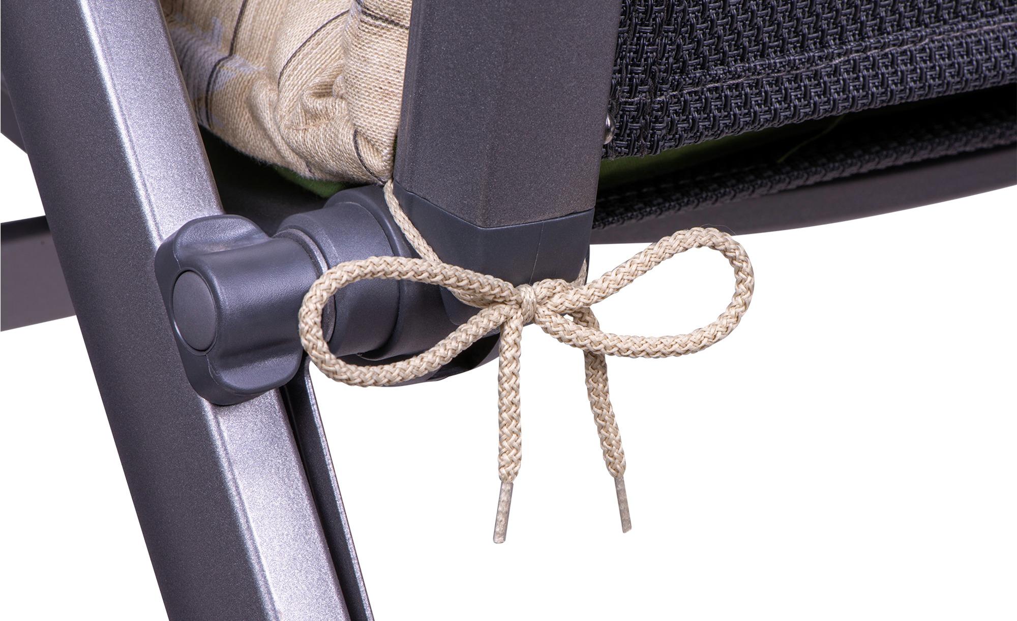 Auflage  Olives ¦ grün ¦ Maße (cm): B: 60 H: 8 Garten > Auflagen & Kissen > Gartenliegen-Auflagen - Höffner