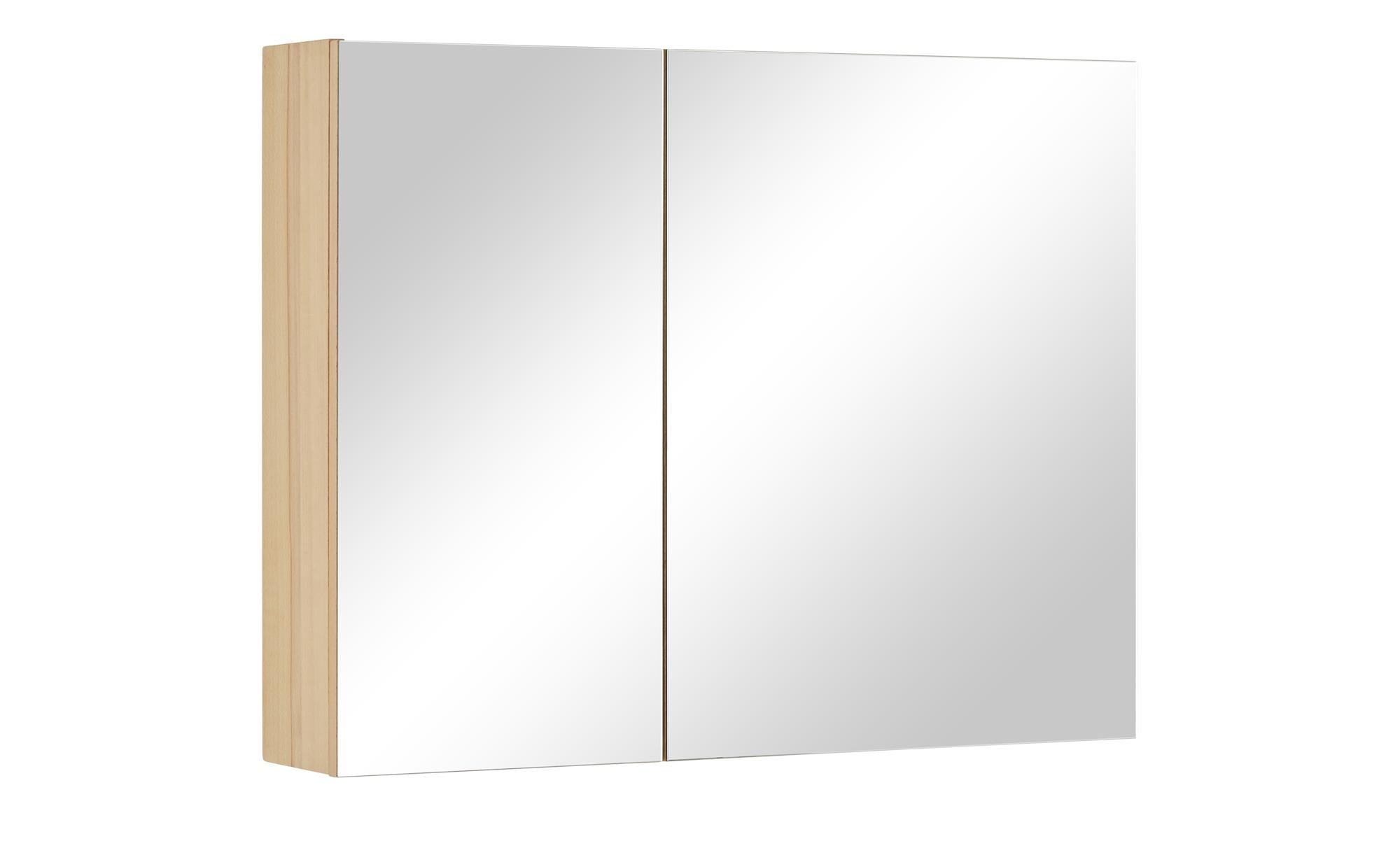 Wohnwert Spiegelschrank  Capri ¦ holzfarben ¦ Maße (cm): B: 90 H: 70 T: 18 Schränke > Badschränke > Spiegelschränke - Höffner   Bad > Badmöbel   Möbel Höffner DE