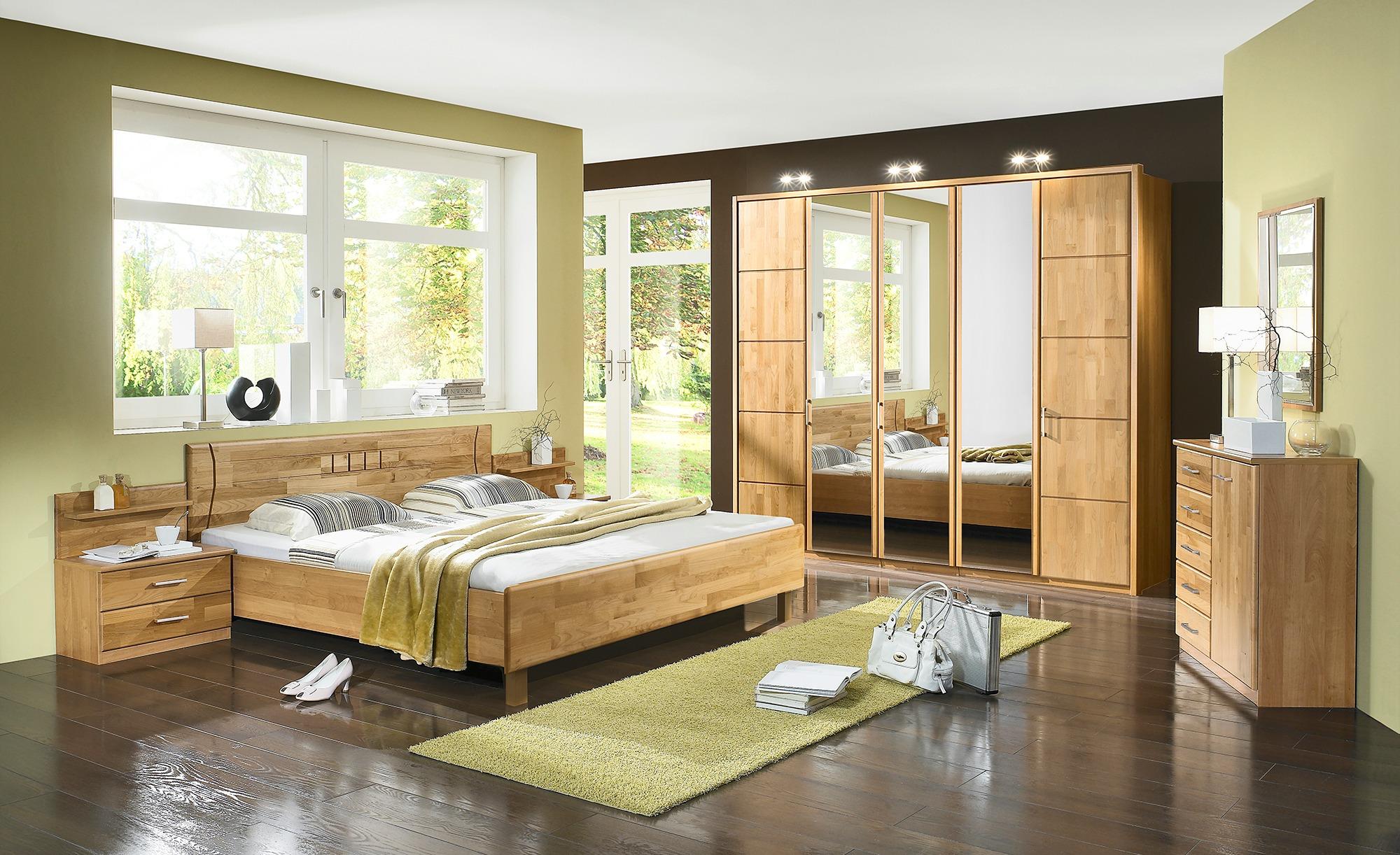 Woodford Komplett-Schlafzimmer 3-teilig Belisa