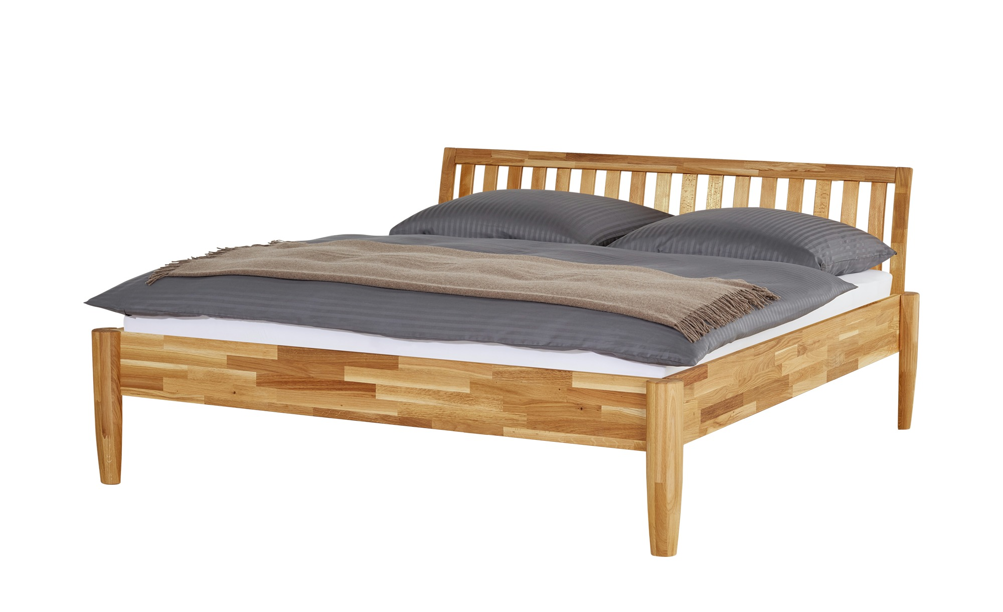 Massivholz-Bettgestell  Timber ¦ holzfarben ¦ Maße (cm): B: 196 H: 93 Betten > Futonbetten - Höffner | Schlafzimmer > Betten > Futonbetten | Möbel Höffner DE