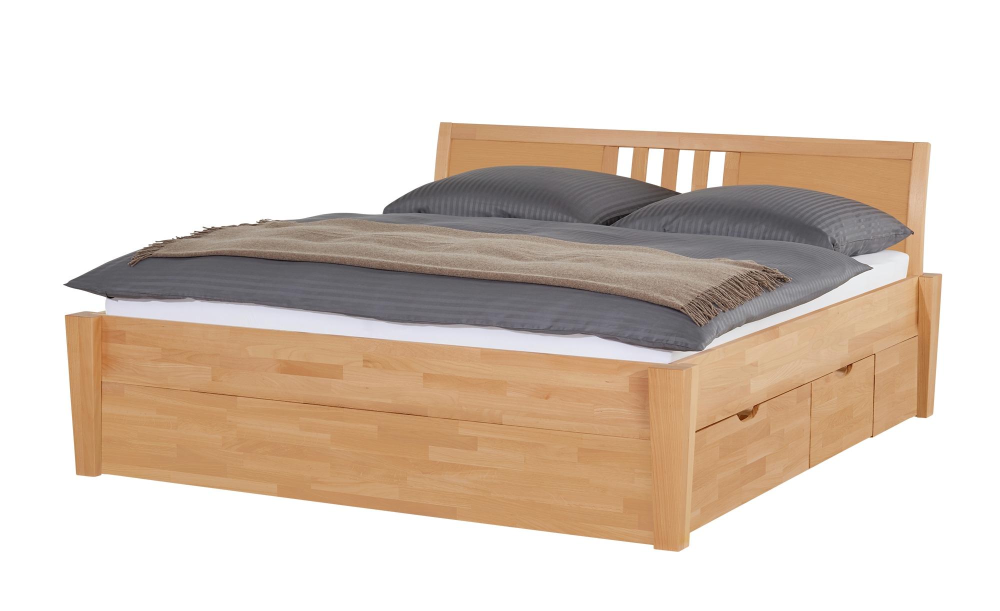 Massivholz-Bettgestell mit Bettkasten Timber ¦ holzfarben ¦ Maße (cm): B: 176 H: 93 Betten > Futonbetten - Höffner | Schlafzimmer > Betten > Futonbetten | Möbel Höffner DE