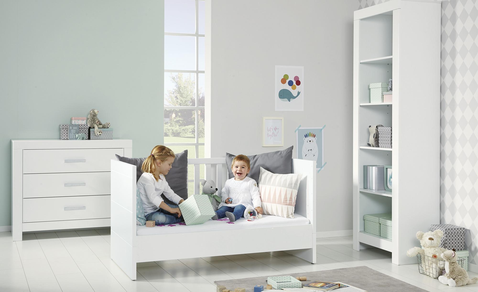 PAIDI Kinderbett 70x140 weiß Fiona | Möbel Höffner
